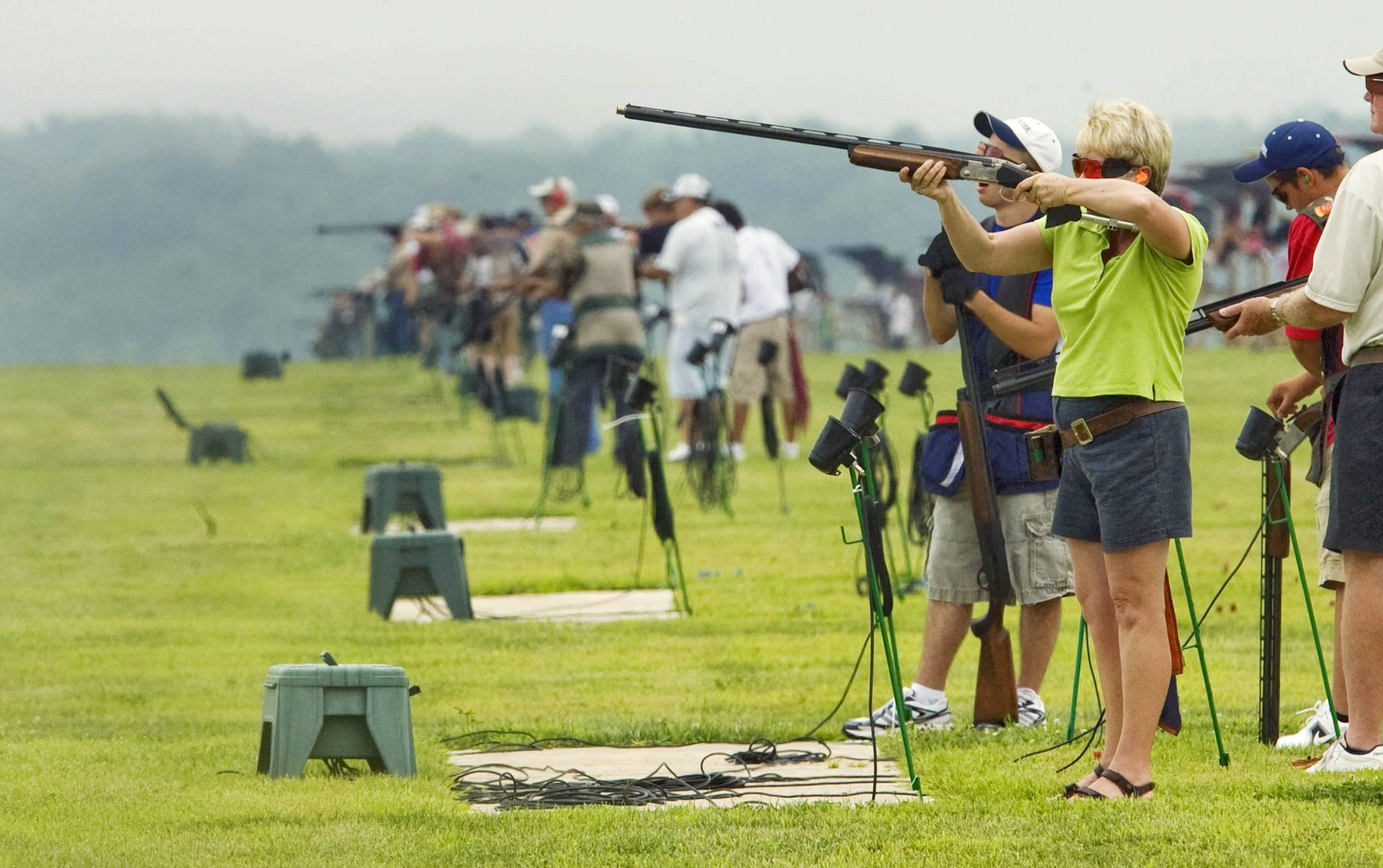 Shooters take aim during competition at the Grand American Trapshooting Championship at the World Shooting and Recreational Complex in Sparta. The new state budget signed by Gov. Pat Quinn last week includes millions of dollars for pet projects statewide. The more than 100,000-acre Department of Natural Resources facility in the Southern Illinois community is getting more than $1.5 million from the capital budget.