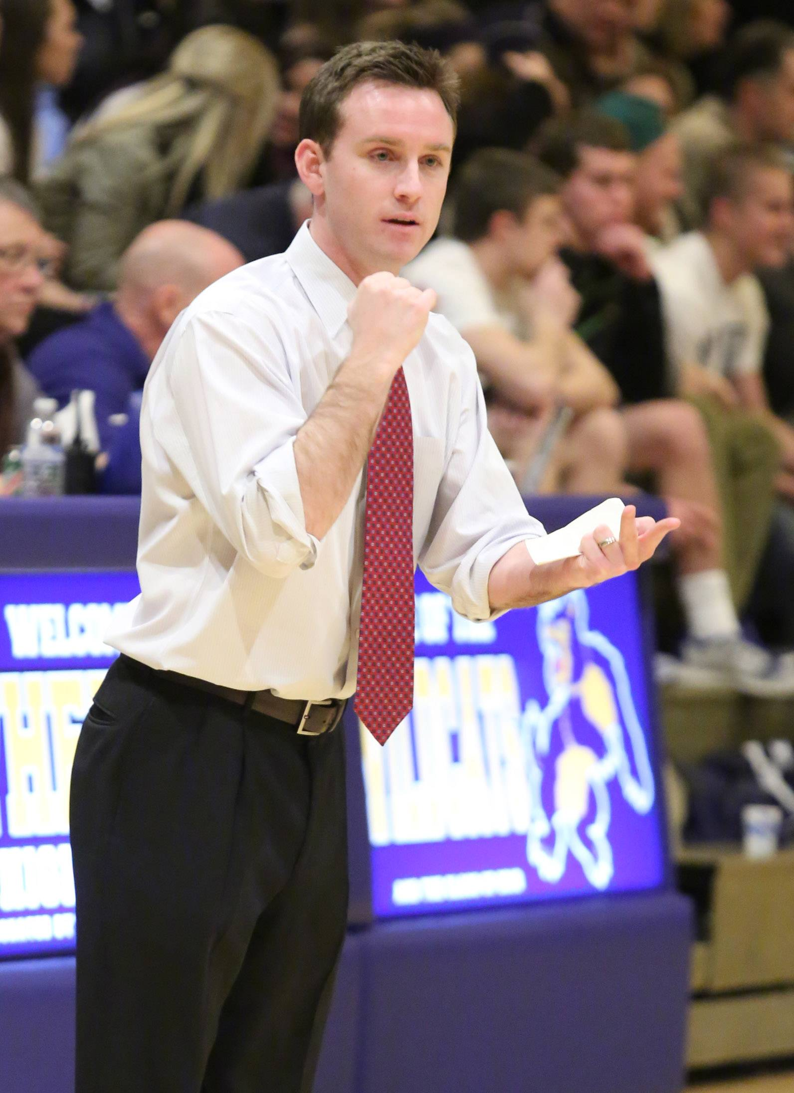 Mike Howland is headed for the college ranks after three stellar head-coaching seasons at St. Viator.