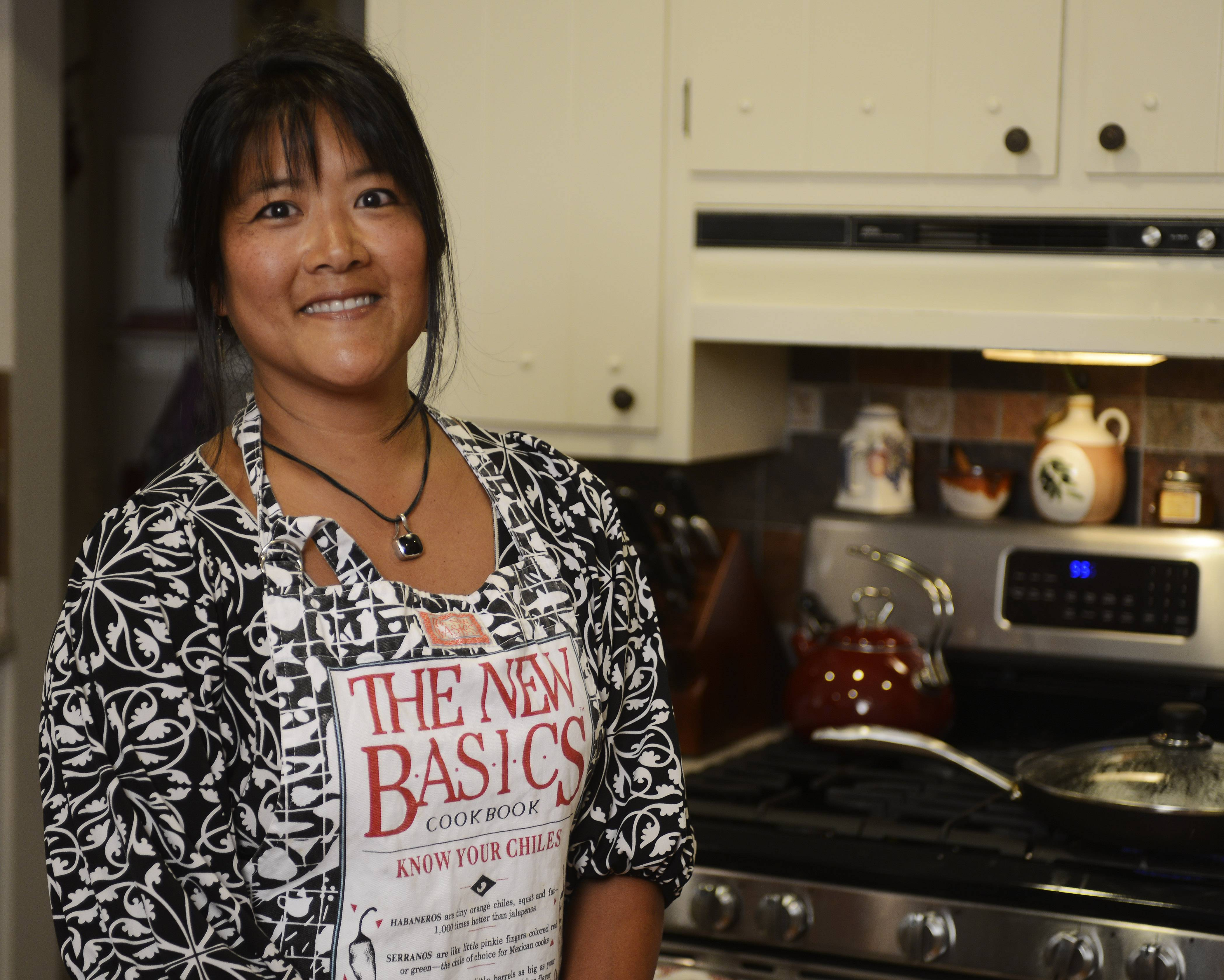 Jennifer Noone had her sights set on becoming a chef but went into real estate instead. She still likes to cook at home and share recipes with others.