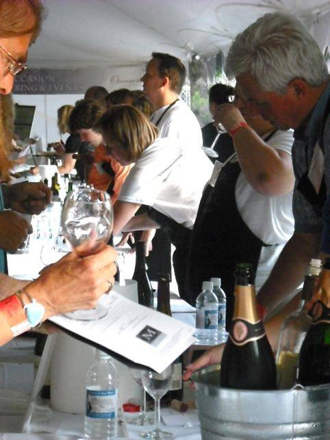 Visitors to Uncork Barrington get an education along with their samples -- each wine has a history of the vintner and details about the wine in question.