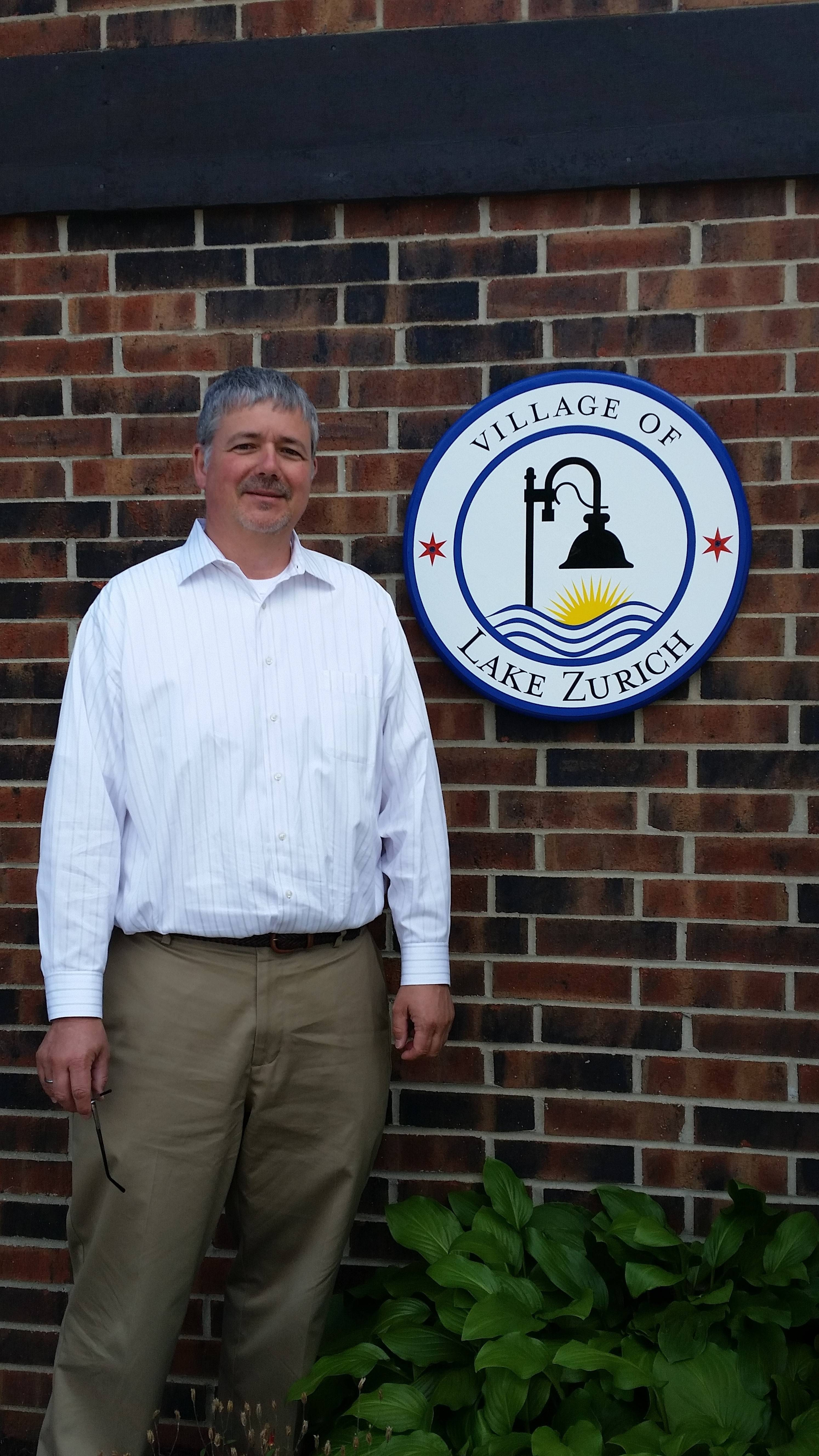 Michael Duebner has shifted into a new role as Lake Zurich's innovation director. He had been technology director until the village board approved the move to the innovation post Monday.