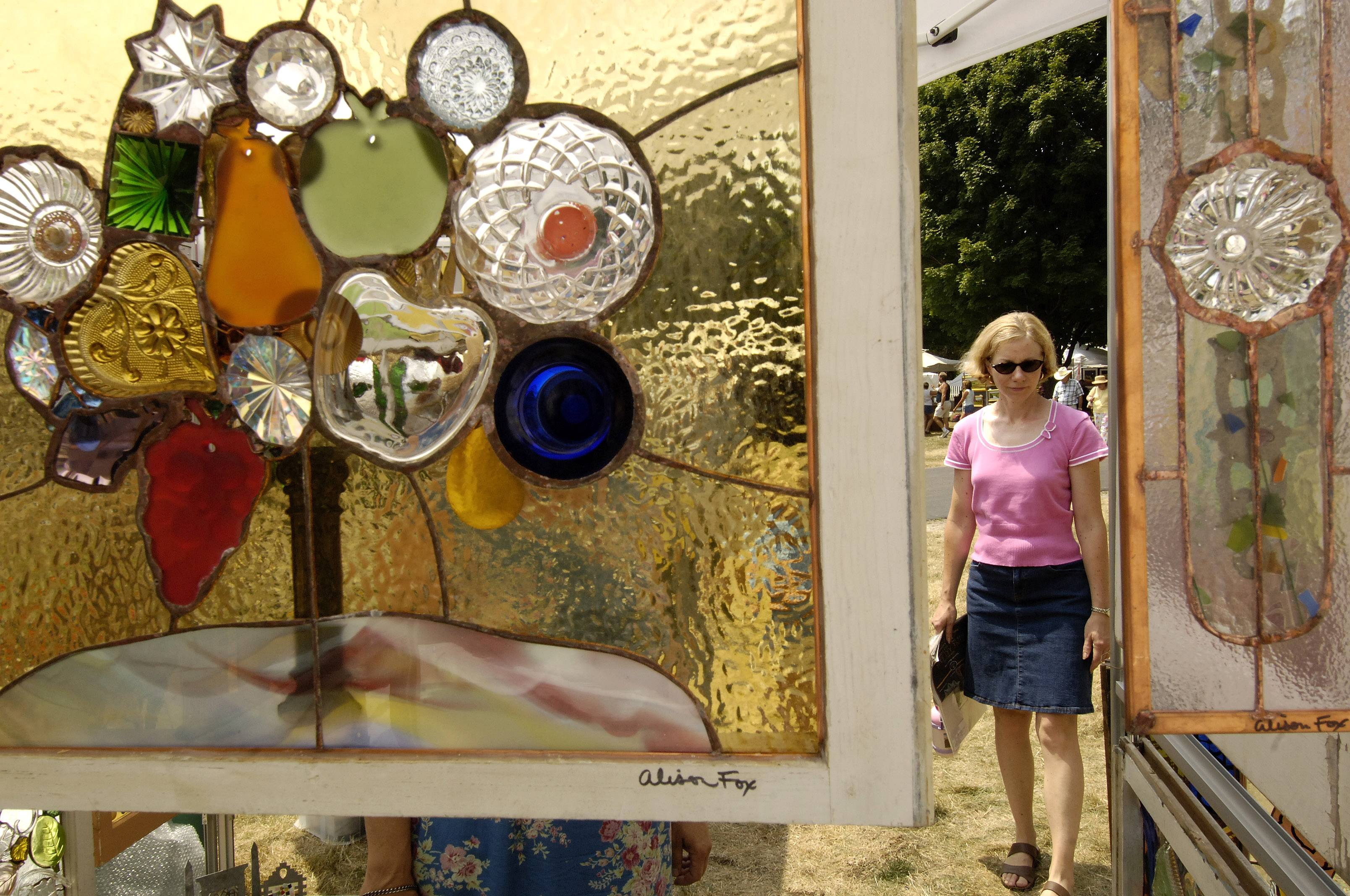 Artwork in glass, photography, painting, drawing and many more media will be available for viewing and sale Saturday and Sunday during the Naperville Woman's Club's 55th annual Juried Art Fair at Naper Settlement.