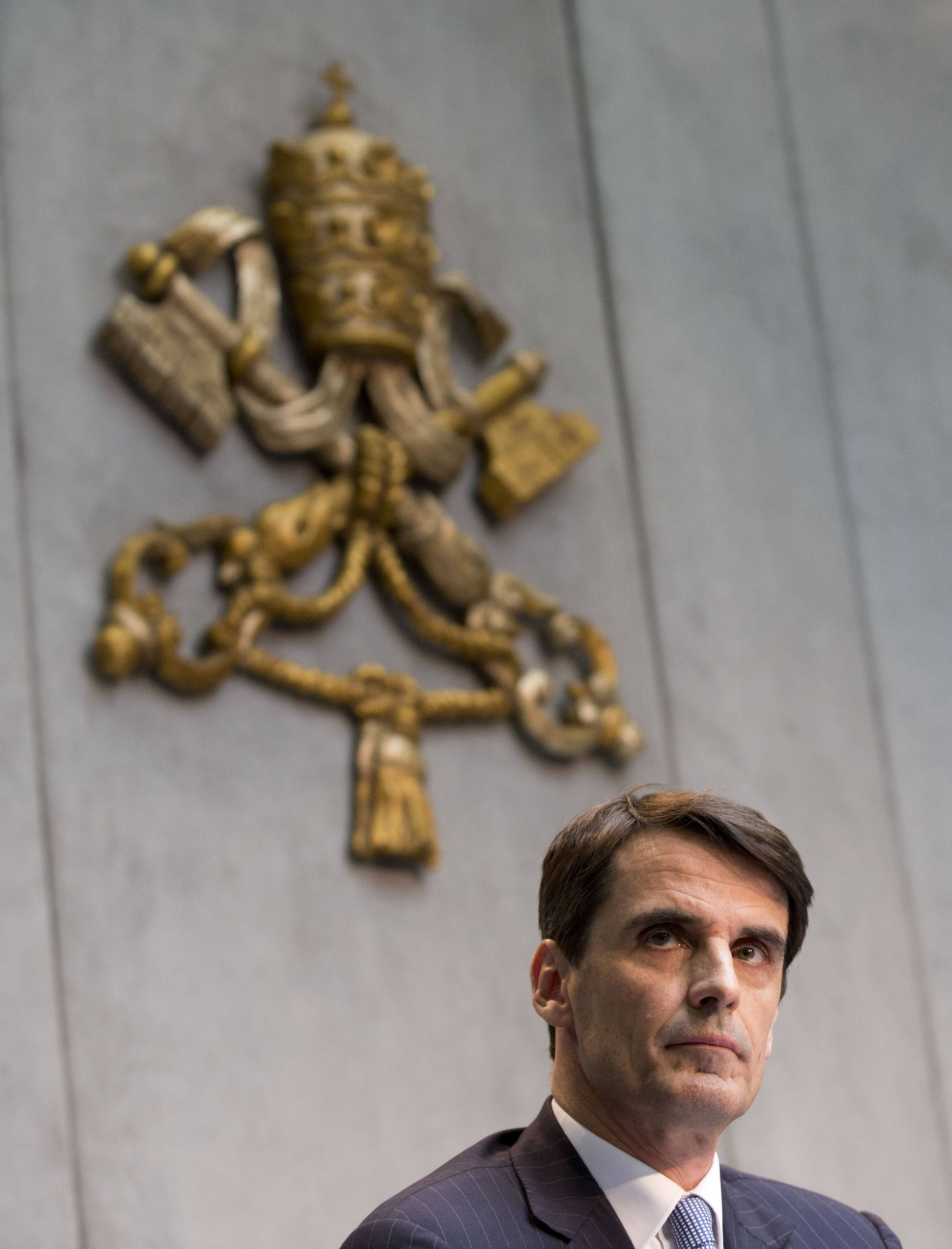 The Vatican has chosen French financier Jean-Baptiste de Franssu as the new president of its bank, which is overhauling operations after a series of financial scandals.