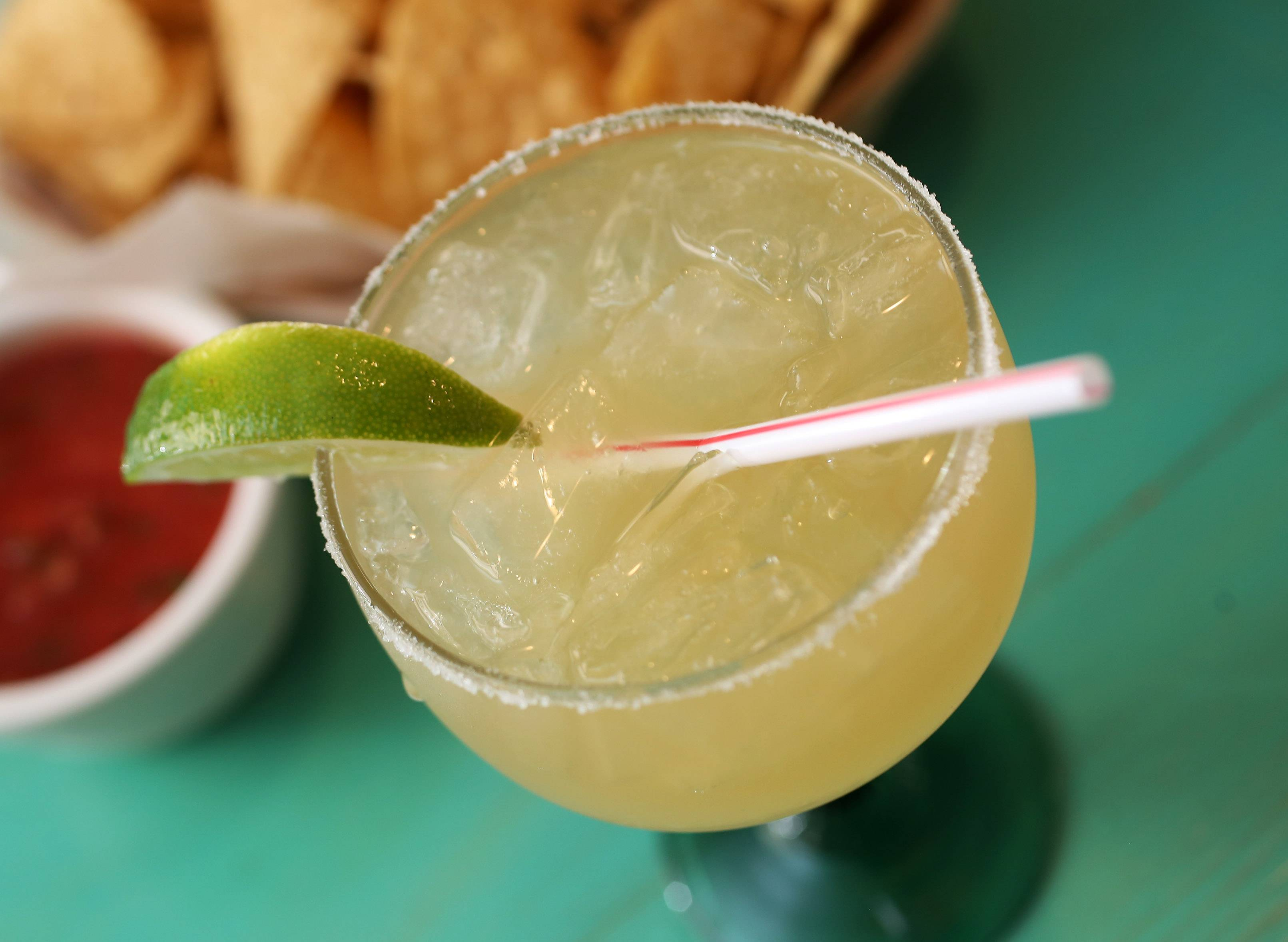 The deck at El Puerto is the beautiful place to enjoy the Ultimate Margarita.