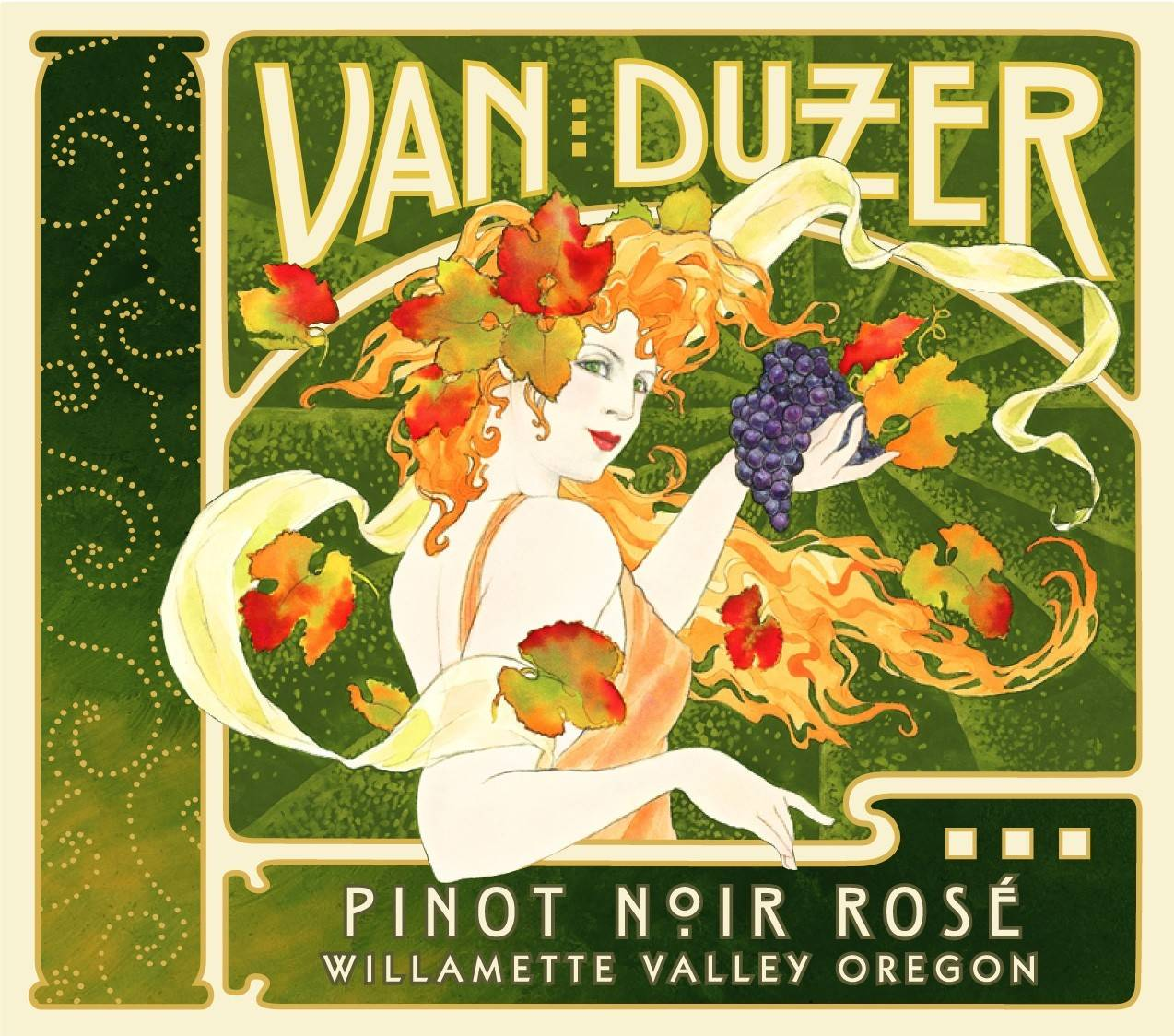 Wine of the Week: Pinot Noir RoseVan DuzerWillamette Valley, Oregon2013