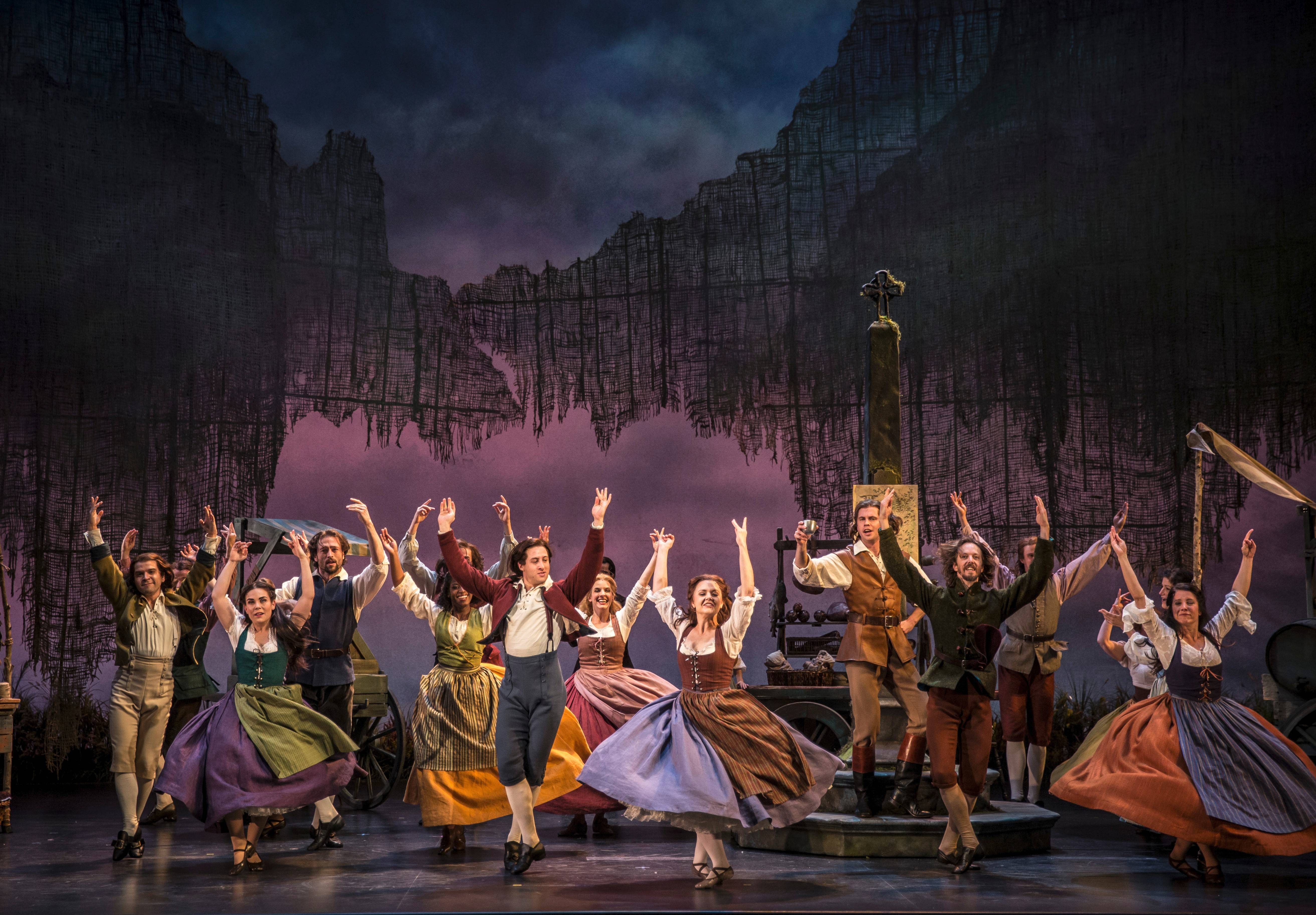 "Goodman Theatre's first-rate revival of ""Brigadoon,"" directed by Rachel Rockwell, features several rousing dance numbers."