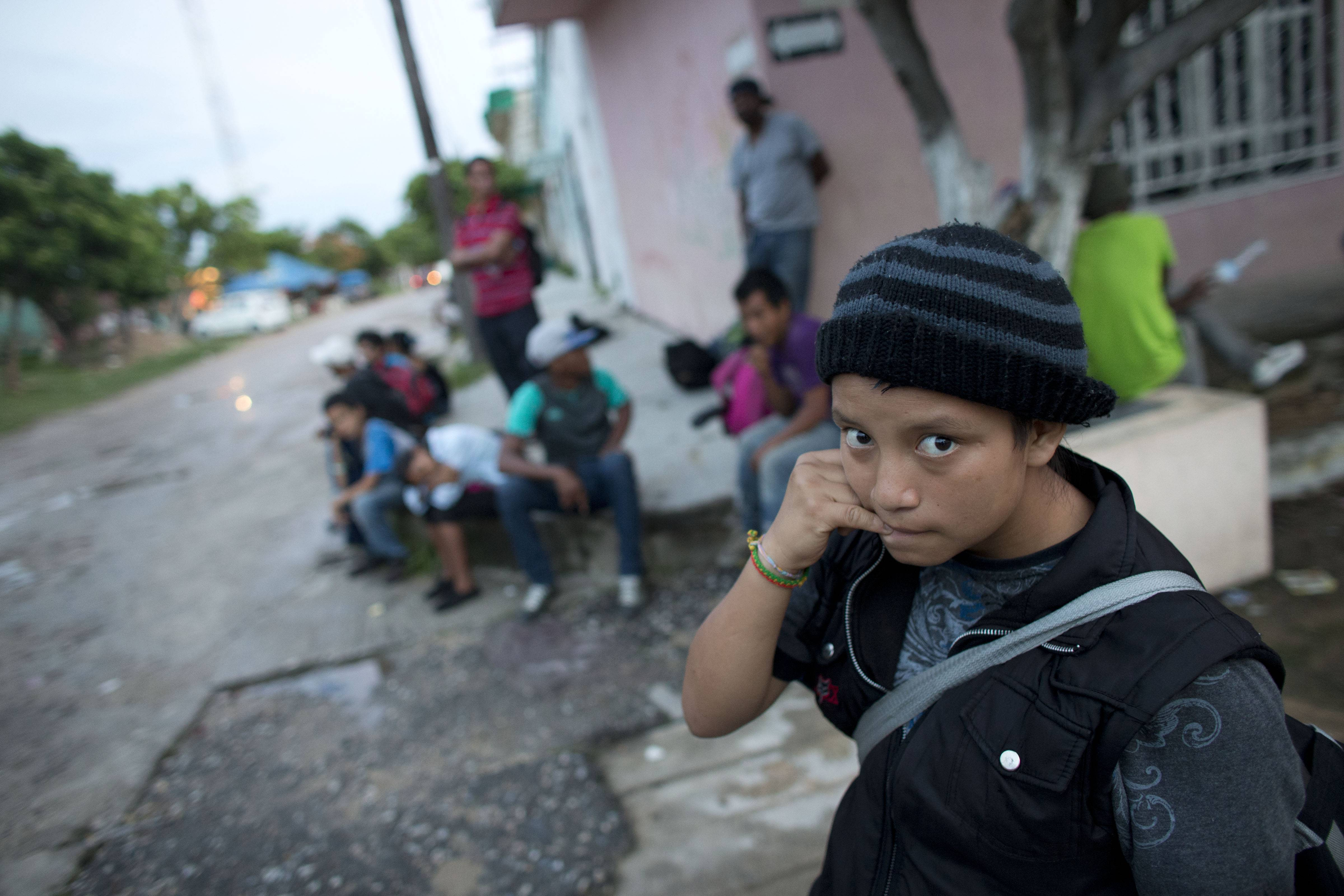 Pressure continues to mount on the federal government to treat as refugees the thousands of children traveling alone from Central America and crossing the border into the United States.