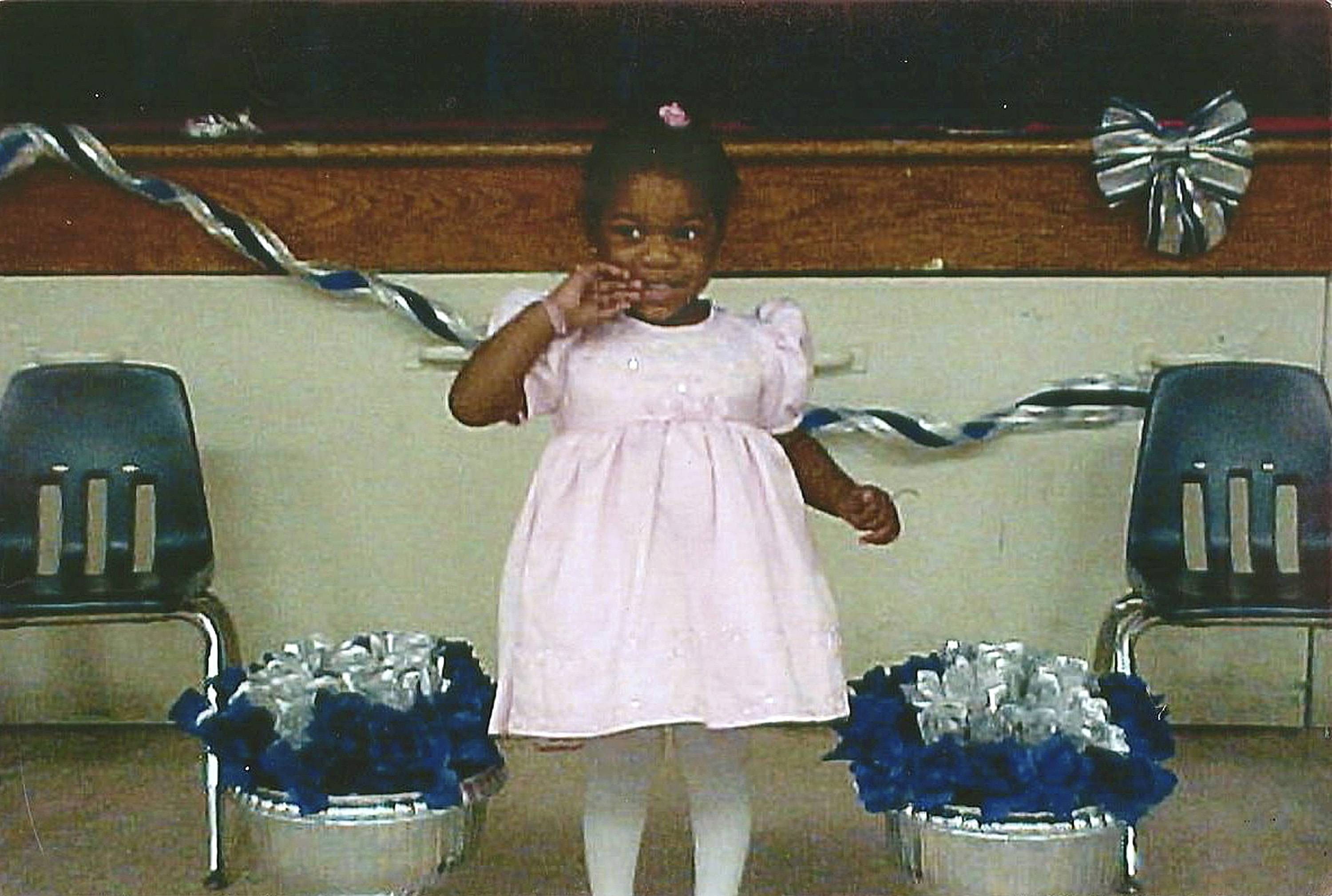 The acknowledged role of Delilah Williams in the abuse of her stepdaughter, Talia Williams, pictured, helped keep her husband Naeem Williams from receiving the death penalty after he was convicted of murdering his daughter. He is scheduled to be sentenced in October.