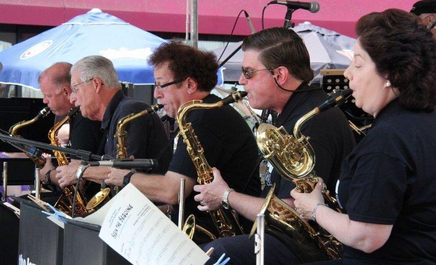 Free Big Band Concert at Elgin's Wing Park July 15