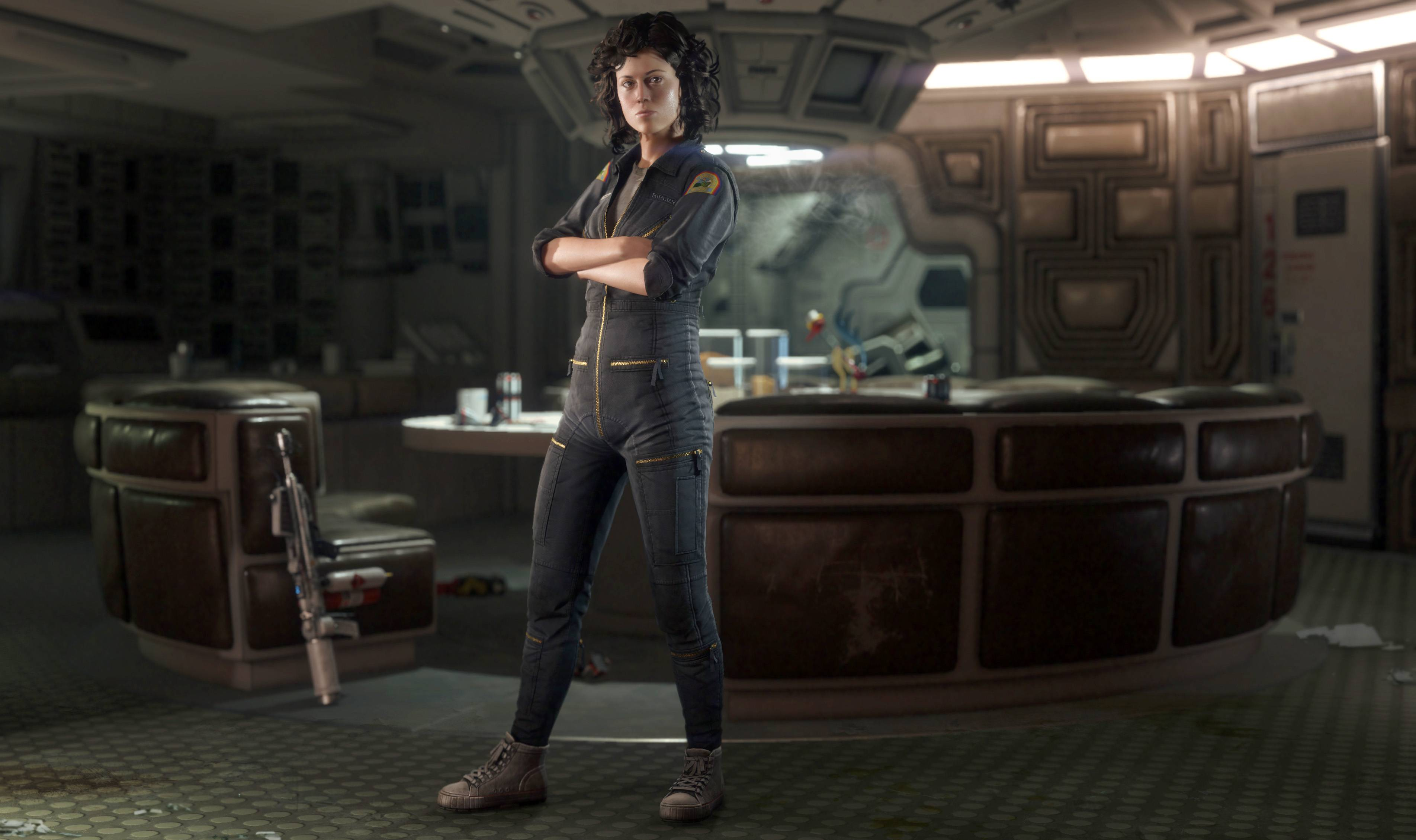 "Sigourney Weaver, who portrayed unflappable officer Ellen Ripley in the ""Alien"" film franchise, is reprising her role in ""Alien: Isolation,"" an upcoming video game set after the events of the original 1979 film."