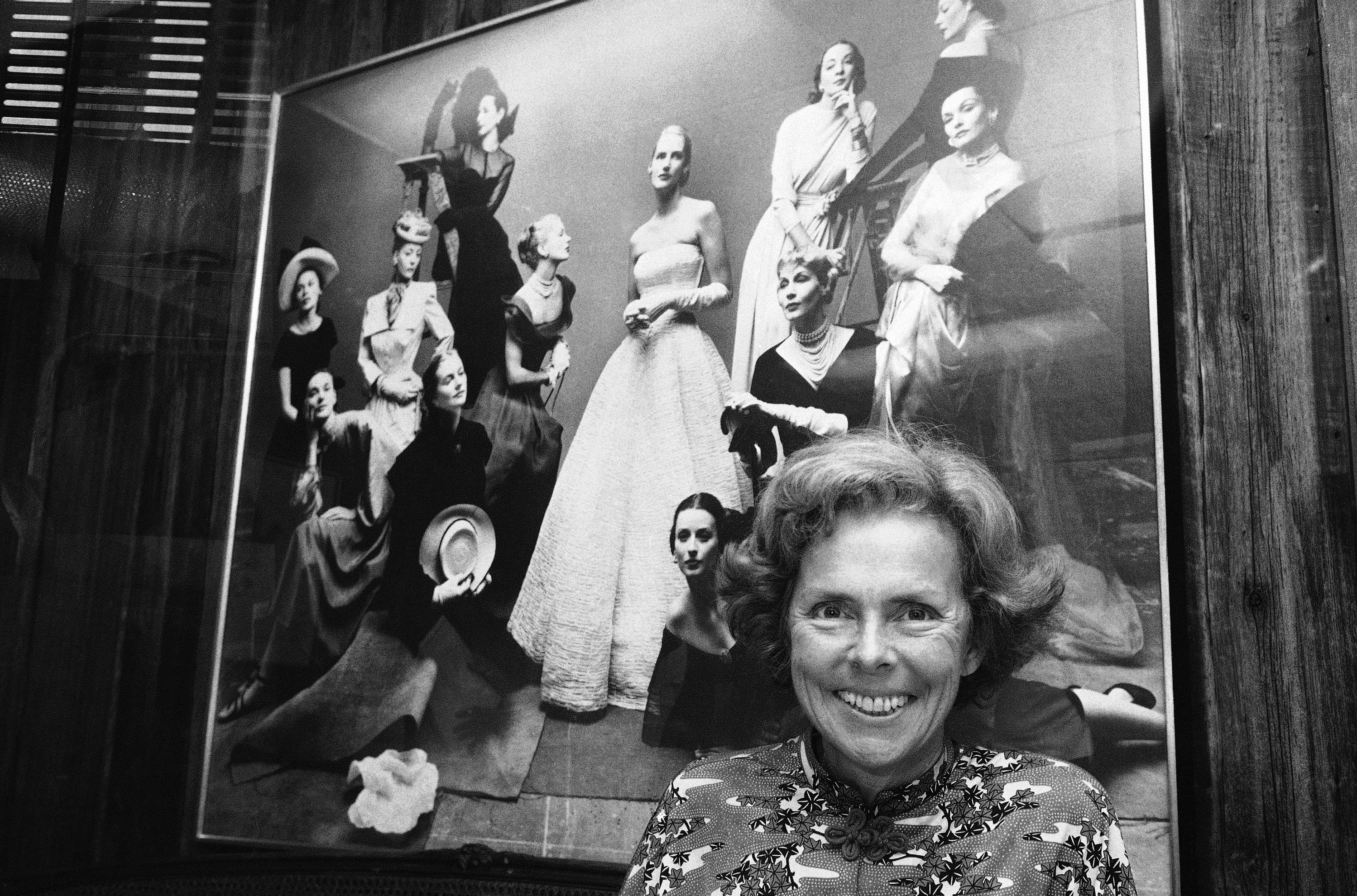 Through her work at Ford Models Inc., Eileen Ford, seen here in a photo from 1977, shaped a generation's standards of beauty as she built an empire and launched the careers of Candice Bergen, Lauren Hutton and Jane Fonda. Ford died Wednesday. She was 92.