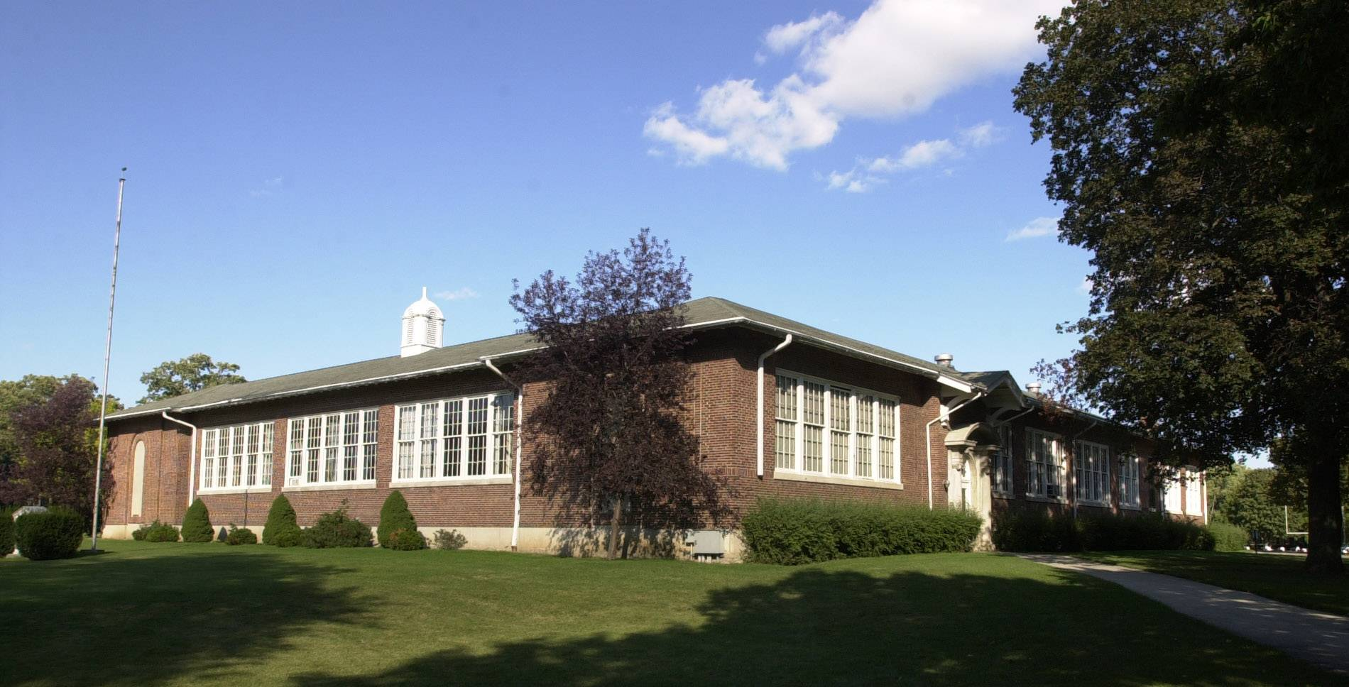 The original Libertyville Township High School is scheduled to be demolished this fall.