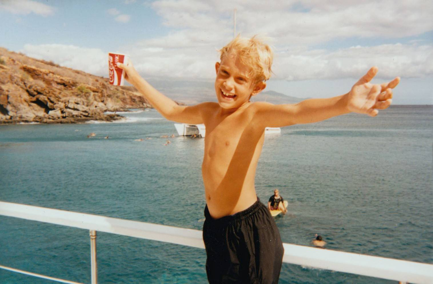 A Hawaiian cruise is something to celebrate, even for a 10-year-old.