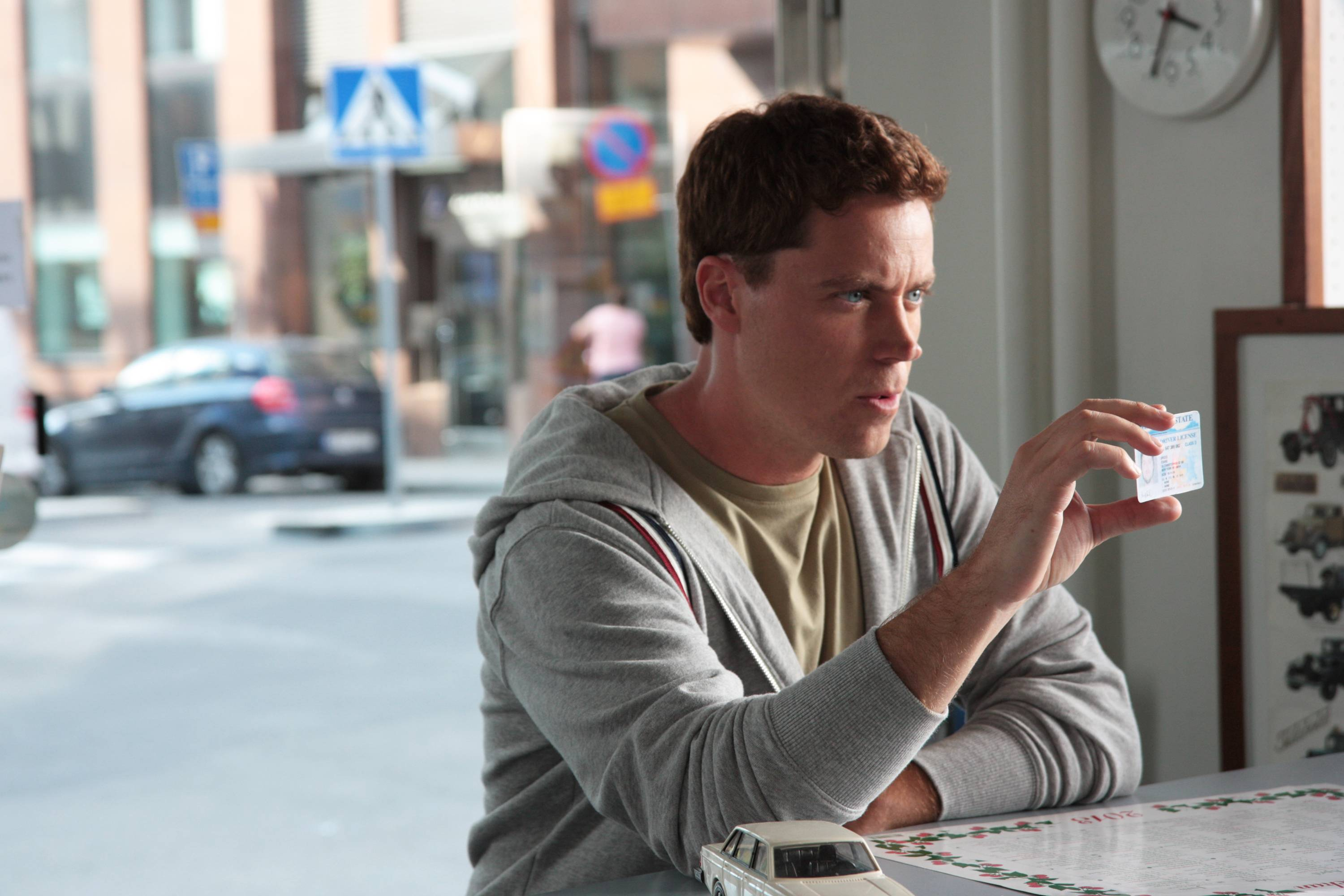 "Greg Poehler plays Bruce Evans in the comedy series ""Welcome to Sweden,"" premiering Thursday, July 10, on NBC."