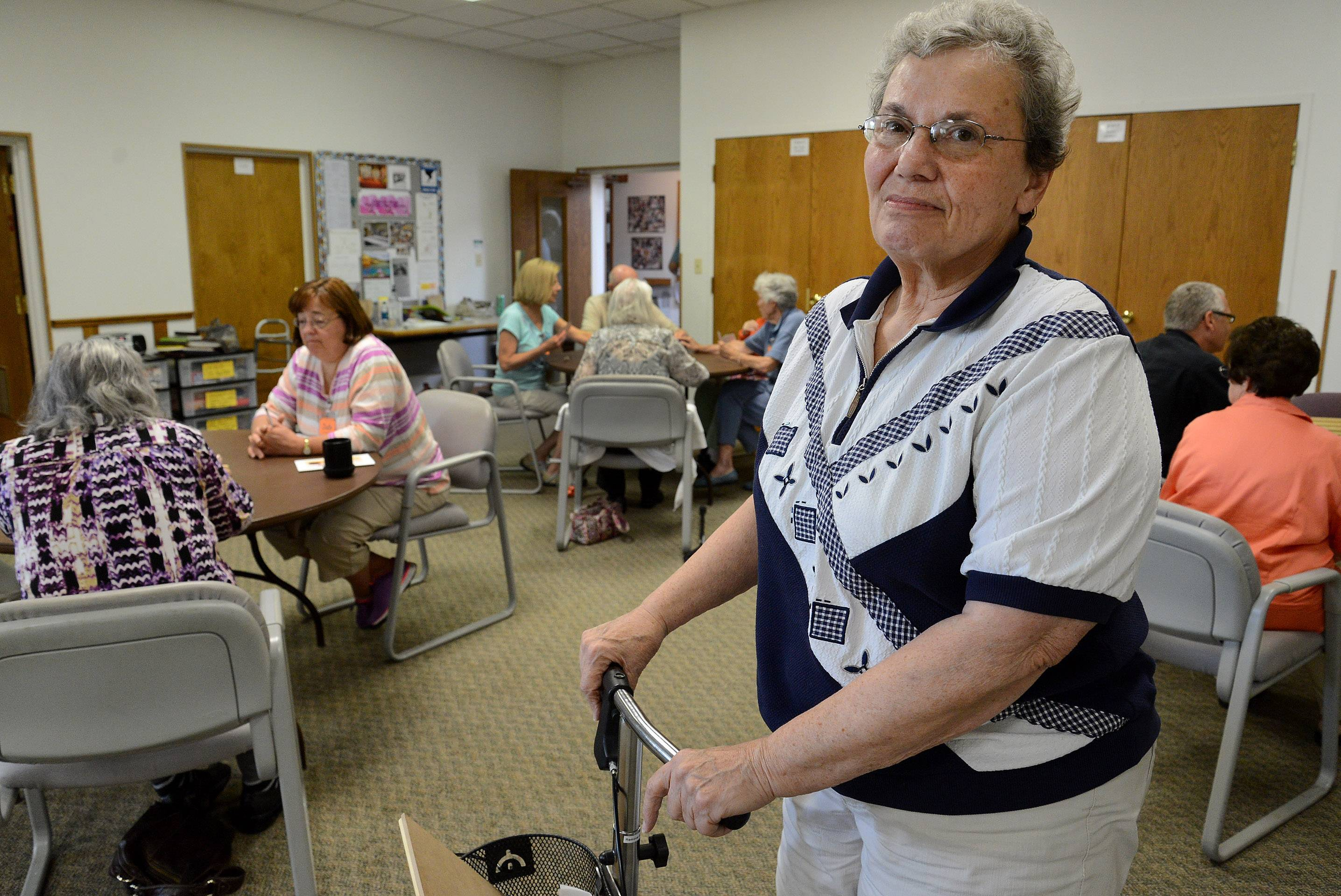 """This is a place where people really care about one another,"" says Marge Hart, co-coordinator of A Caring Place."