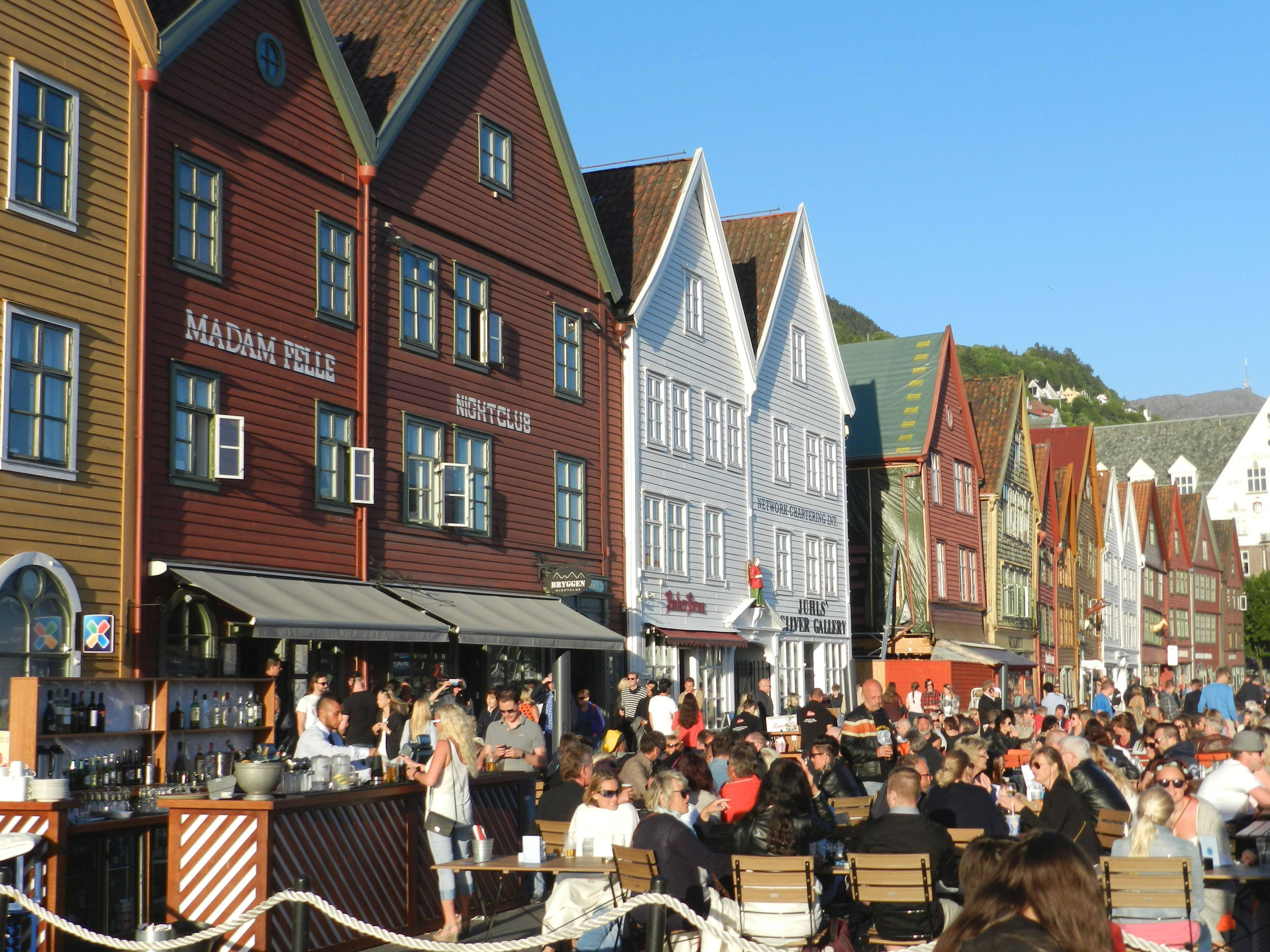"Our Norway tour began in the city of Bergen, gateway to the fjords, which served as the inspiration for ""Frozen's"" fictional kingdom of Arendelle."