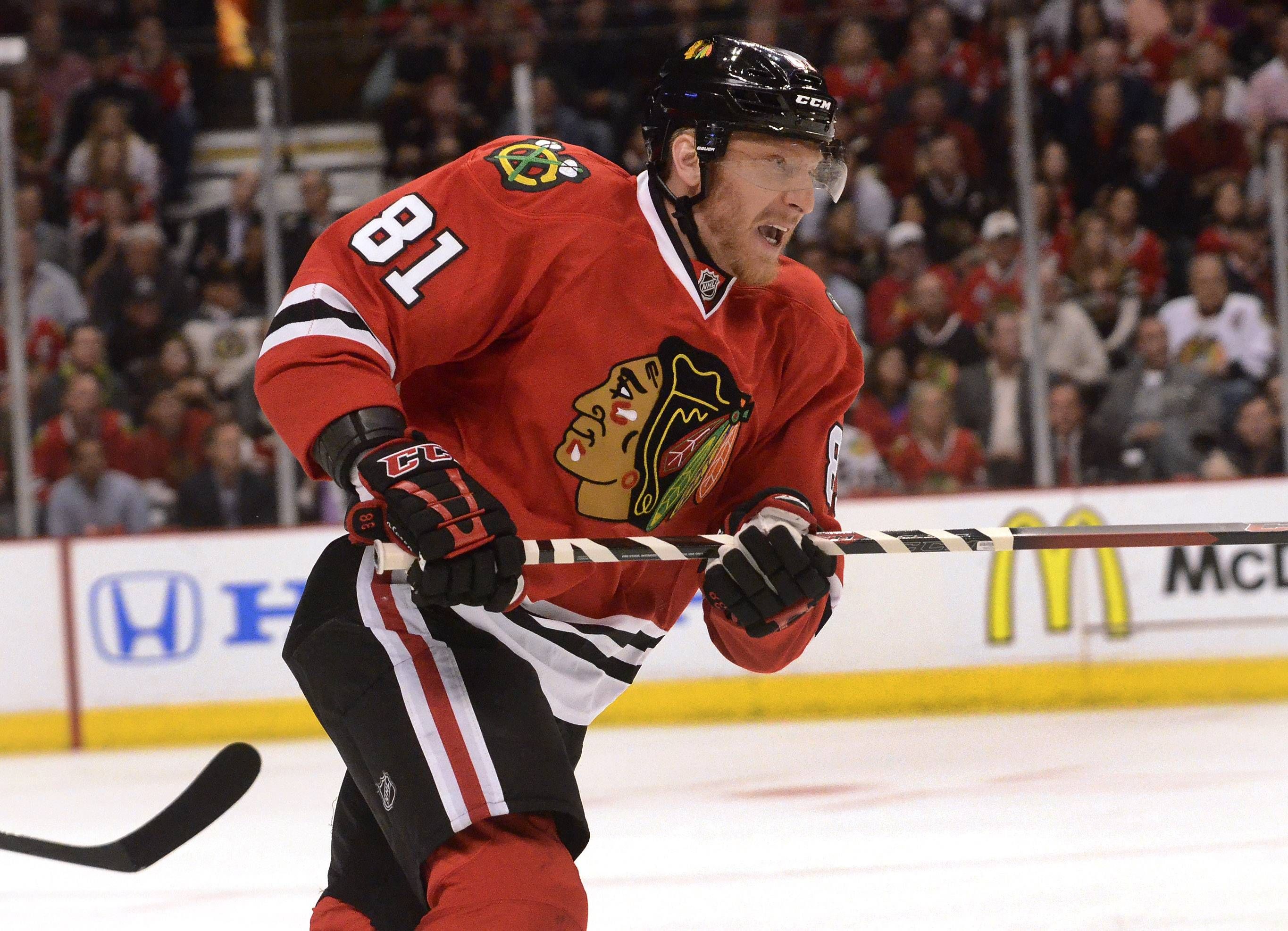 It's also nice to know that Marian Hossa won't be leaving the Blackhawks anytime soon, says Mike Spellman.