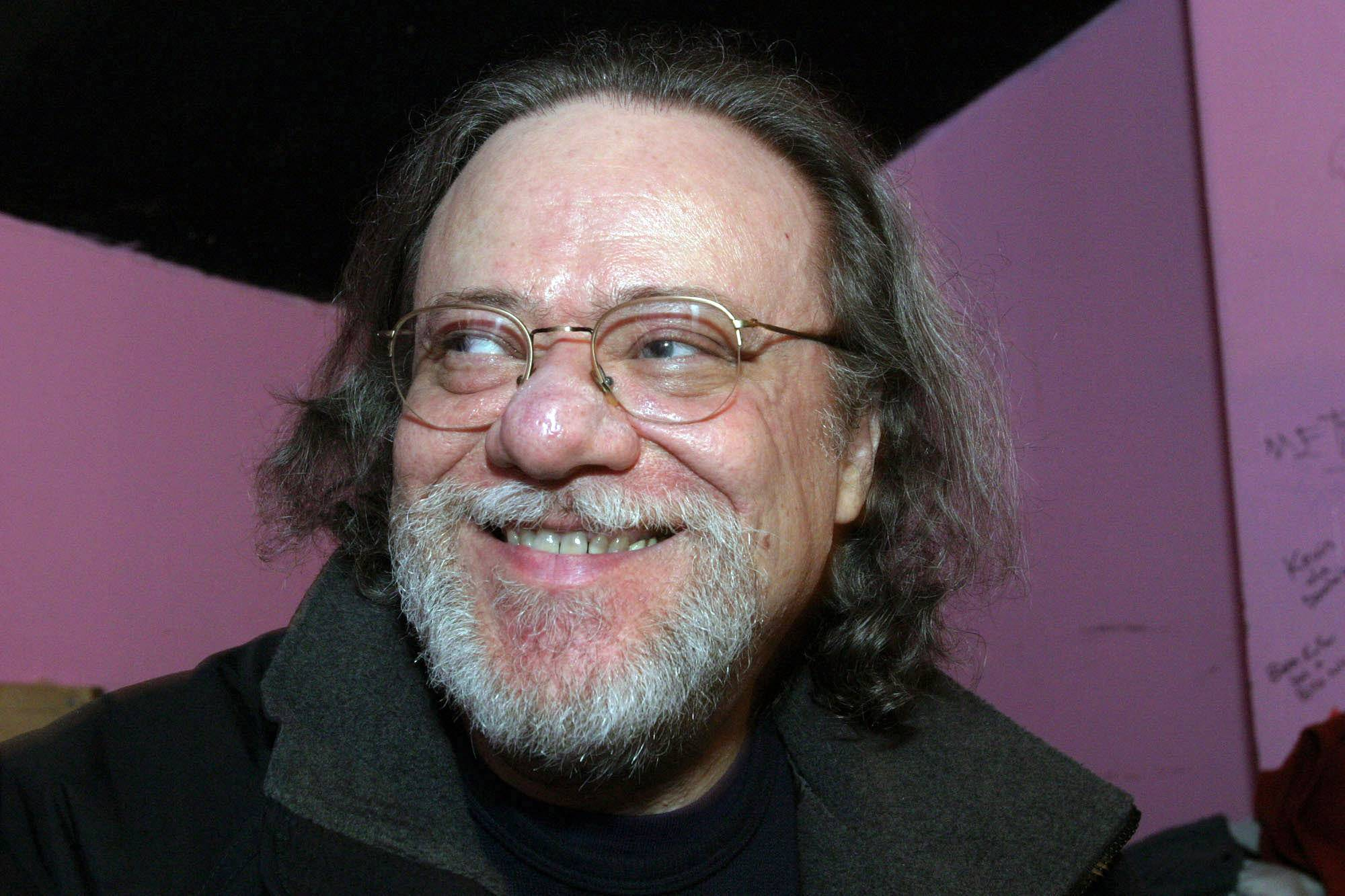 Tommy Ramone, ex-drummer and manager of The Ramones, smiles as he is interviewed backstage Jan. 8, 2005, at the Knitting Factory in New York. A business associate says Ramone, a co-founder of the seminal punk band The Ramones and the last surviving member of the original group, has died. Dave Frey, who works for Ramones Productions and Silent Partner Management, says Ramone's wife called to tell him he died on Friday, July 11.