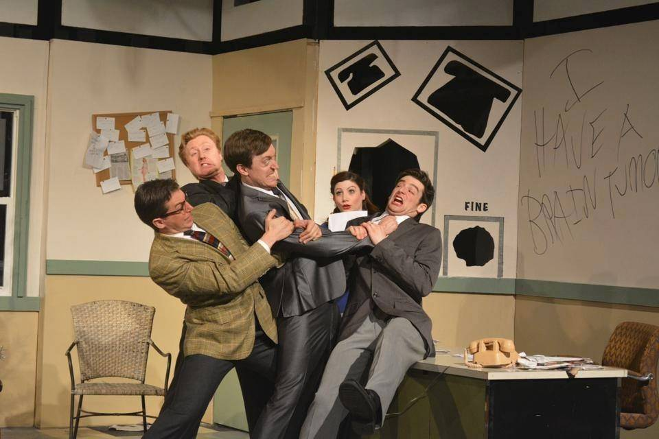 "Eclectic Company Theatre's Chicago production of Neil Simon's 1993 comedy ""Laughter on the 23rd Floor"" comes to the Metropolis Performing Arts Centre in Arlington Heights from Thursday, July 10, through Sunday, Aug. 17."