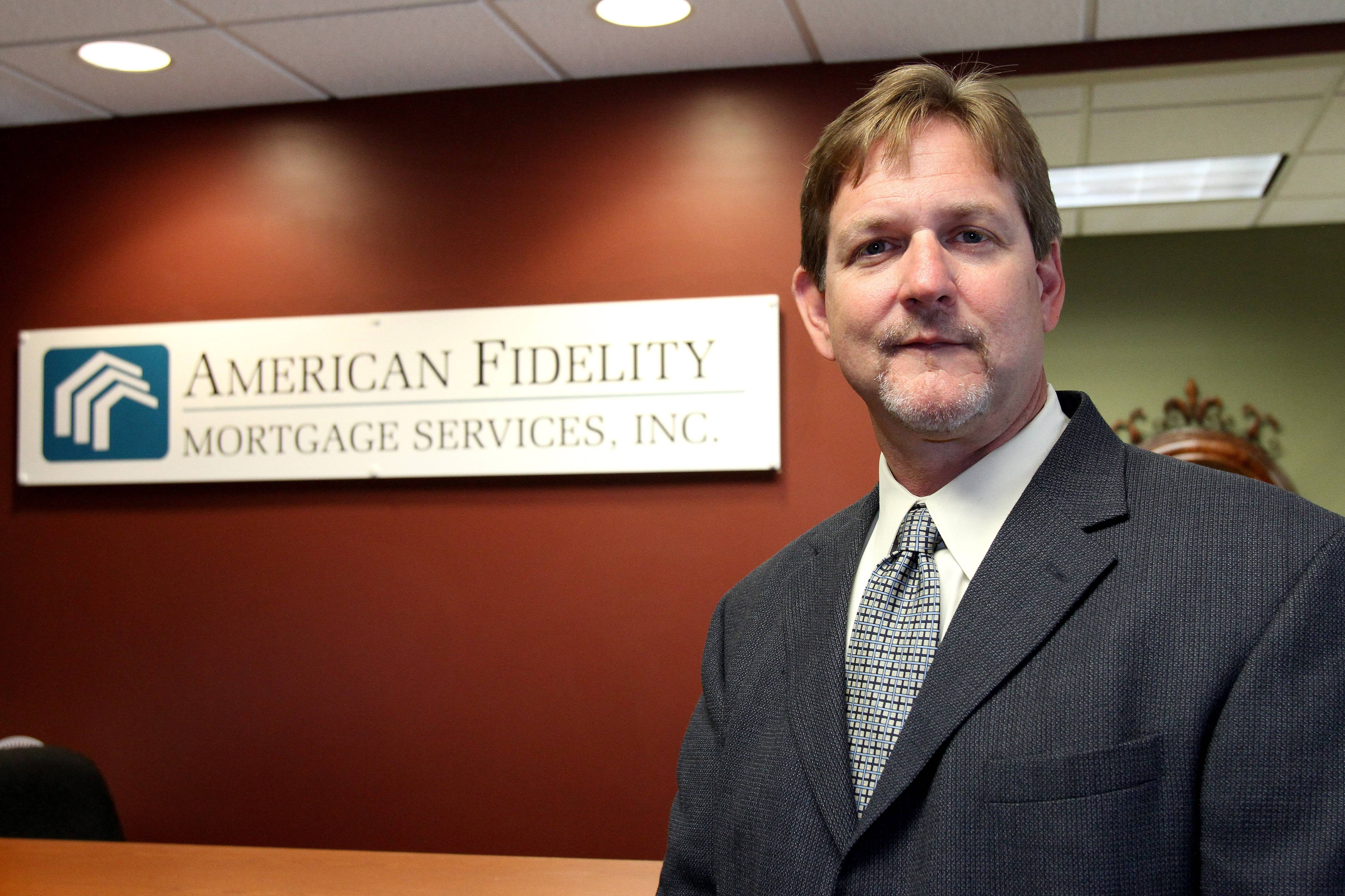 Richard Glover, director of the Reverse Mortgage Division, American Fidelity Mortgage Services in Lisle, says many retirees do not know the intricacies of the reverse mortgage program.