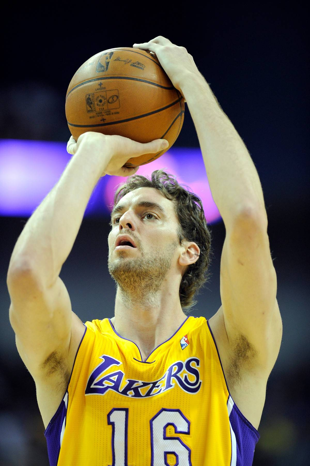 Los Angeles Lakers power forward Pau Gasol of Spain
