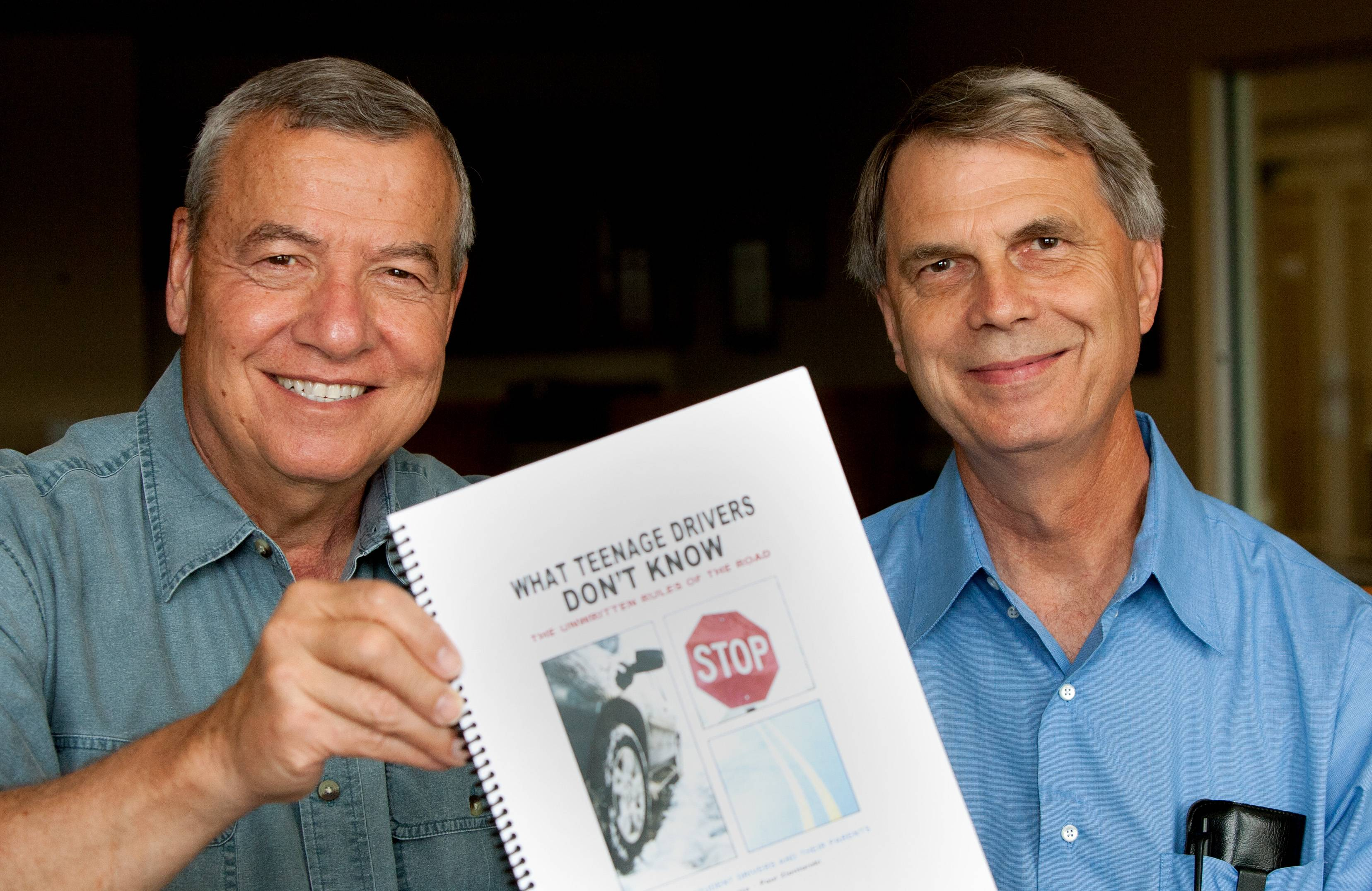 "Naperville authors Paul Zientarski and John Harmata soon will publish a book directed toward teen drivers and their parents that they say contains ""The Unwritten Rules of the Road."""