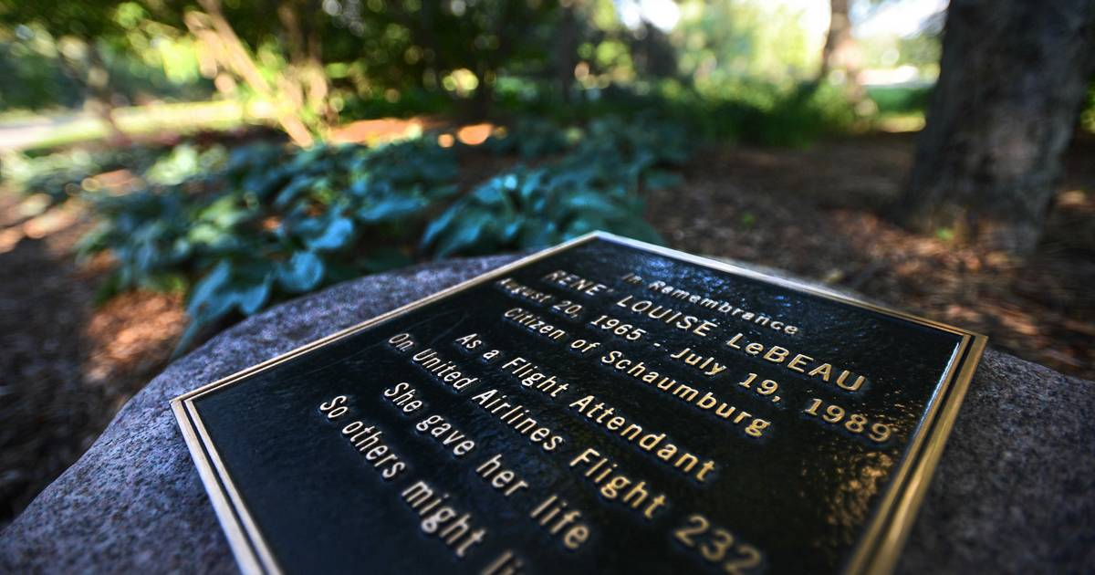 Images United Flight 232 Disaster 25th Anniversary