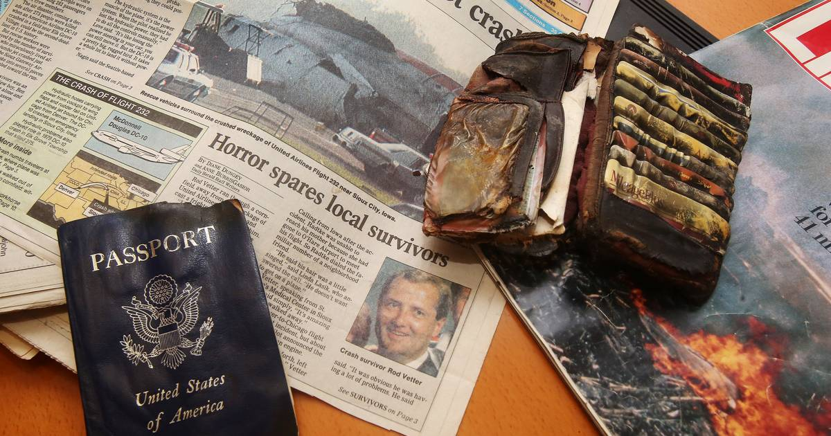 Images: United Flight 232 Disaster- 25th Anniversary