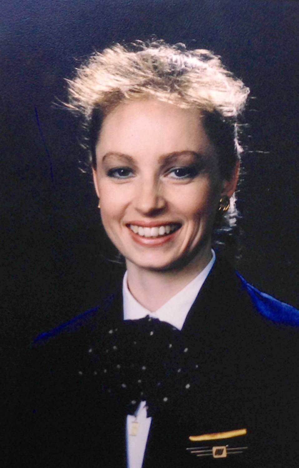 Rene LeBeau, a Schaumburg resident and United Airlines  flight attendant ,  perished when Flight 232  crashed in Iowa on July 19, 1989.