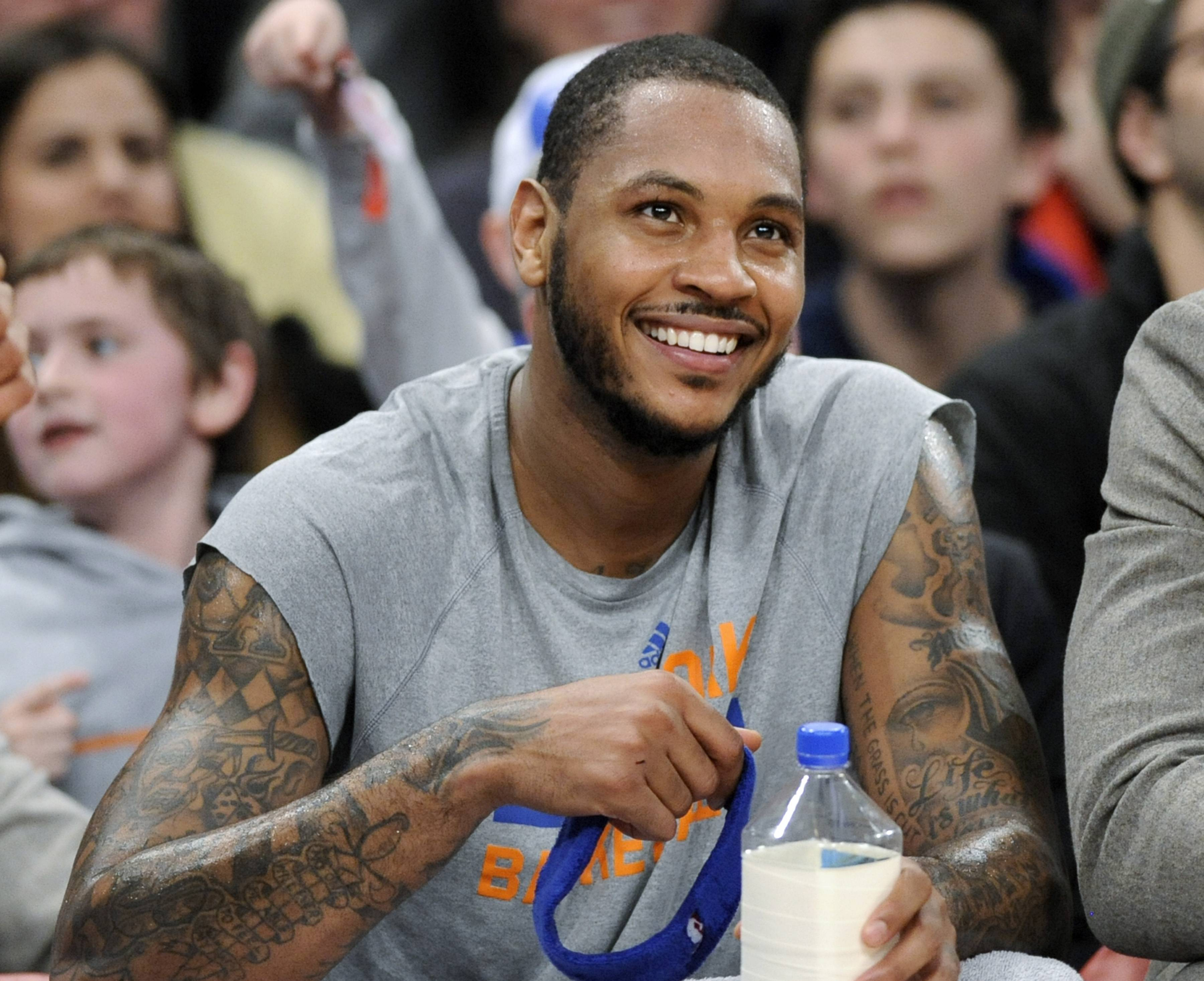 A league source told Mike McGraw that the Bulls' initial contract offer to Carmelo Anthony was in the neighborhood of four years for $75 million.