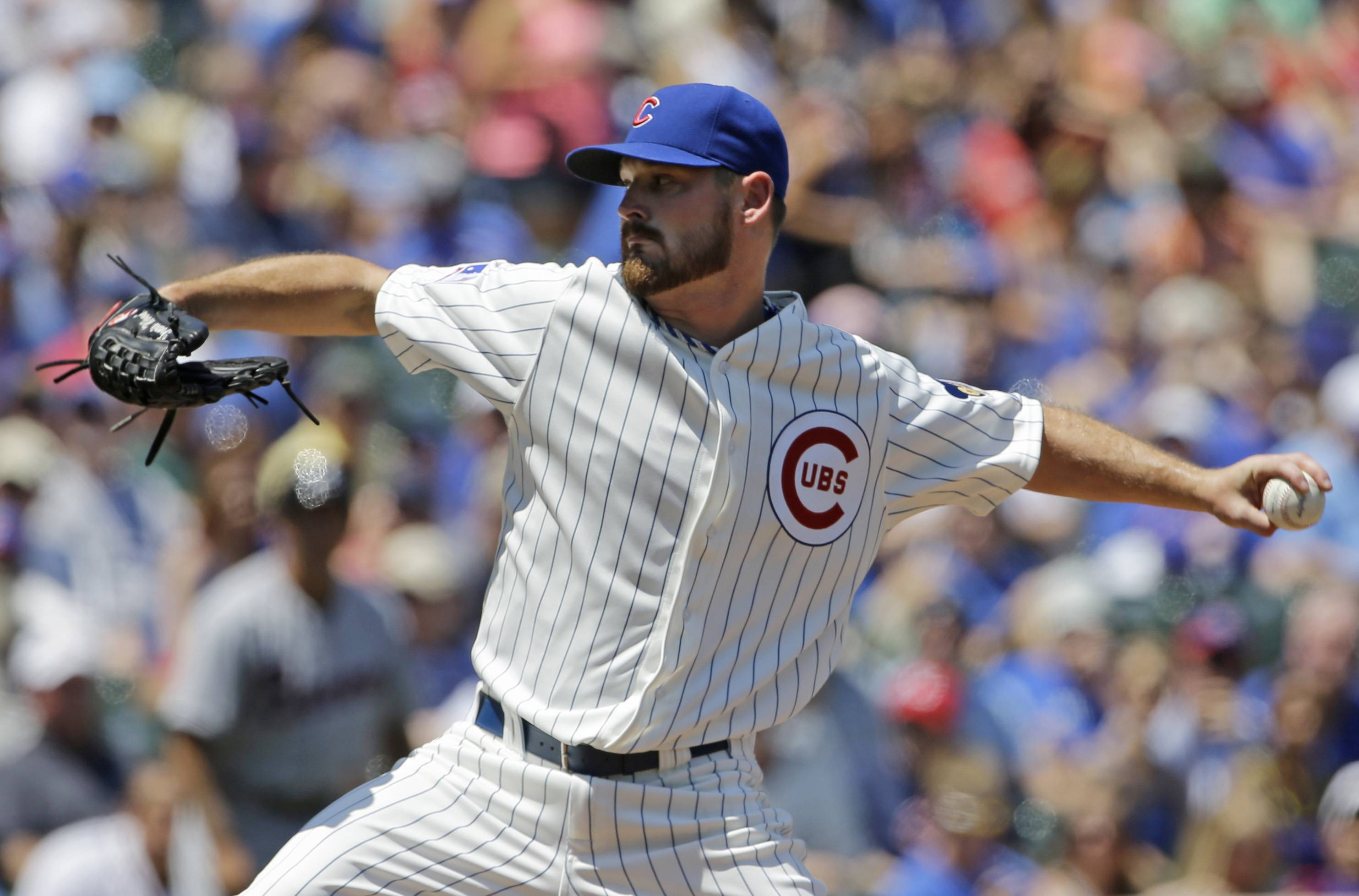 Travis Wood allowed 7 runs in 6 innings Sunday at Wrigley Field. After a 2013 campaign in which the Cubs' starter posted a 3.11 ERA, that number as ballooned in 2014 to 4.96
