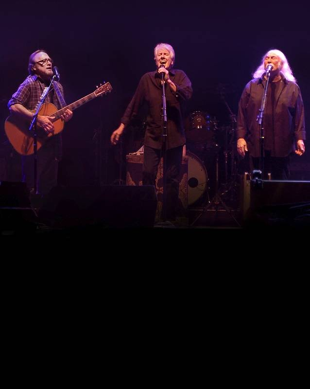 Crosby, Stills and Nash play the Ravinia Festival in Highland Park at 7:30 p.m. Saturday, July 19.