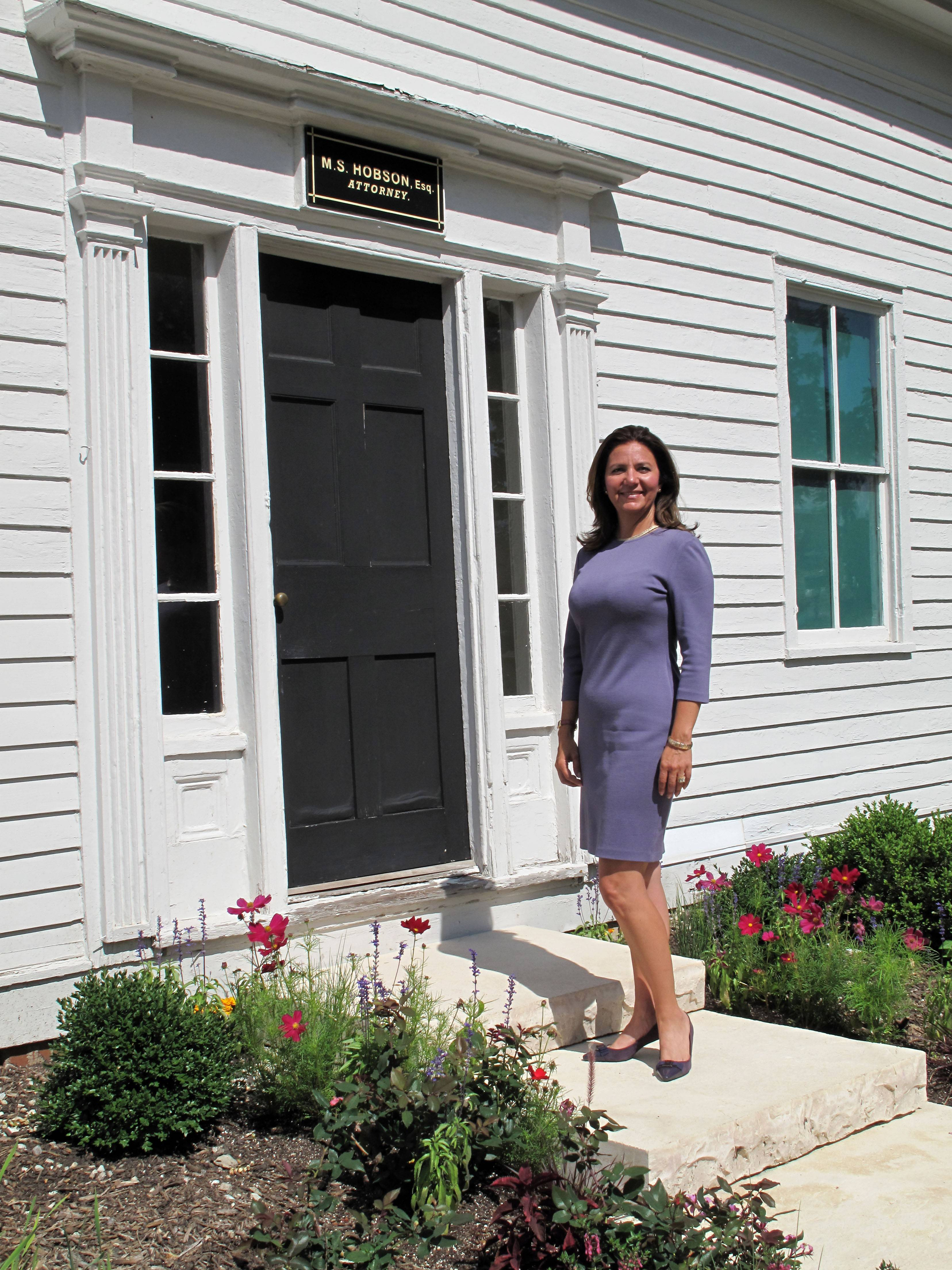 Rena Tamayo-Calabrese of Naperville starts today as the new Naper Settlement president and CEO. She says she looks forward to building on the museum's ability to tell Naperville's story as a microcosm of American history.