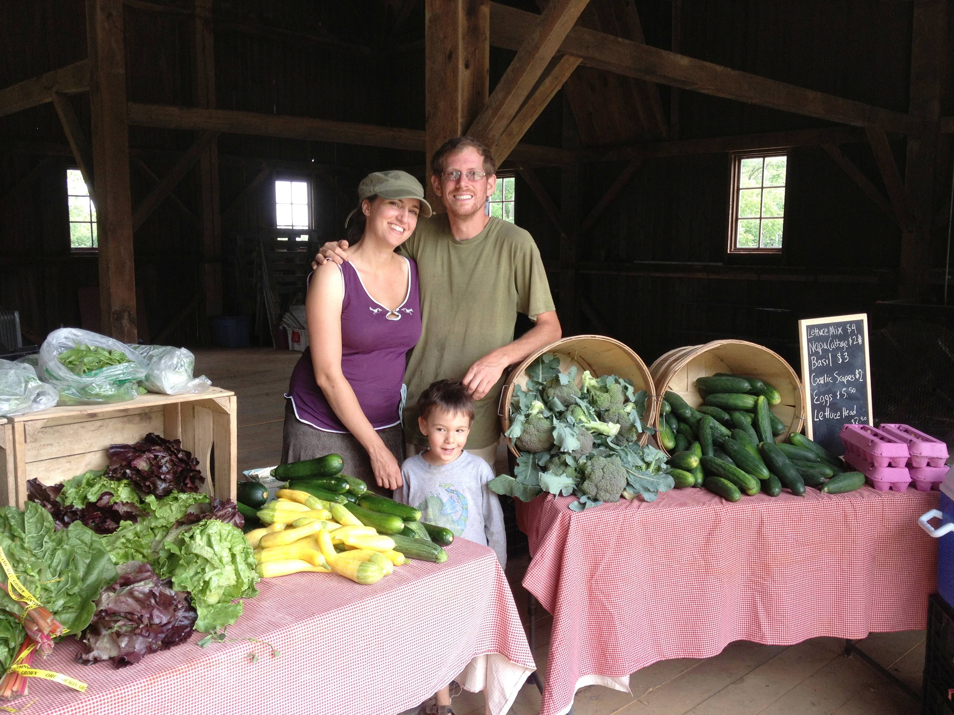 Alison Parker and Alex Needham, owners of Radical Root Farm, operate Libertyville's first certified organic farm. Visit their farm stand at Casey Farm, 31330 Milwaukee Ave., from 8 a.m. - 1 p.m. on Saturdays through October.Erin Cummisford