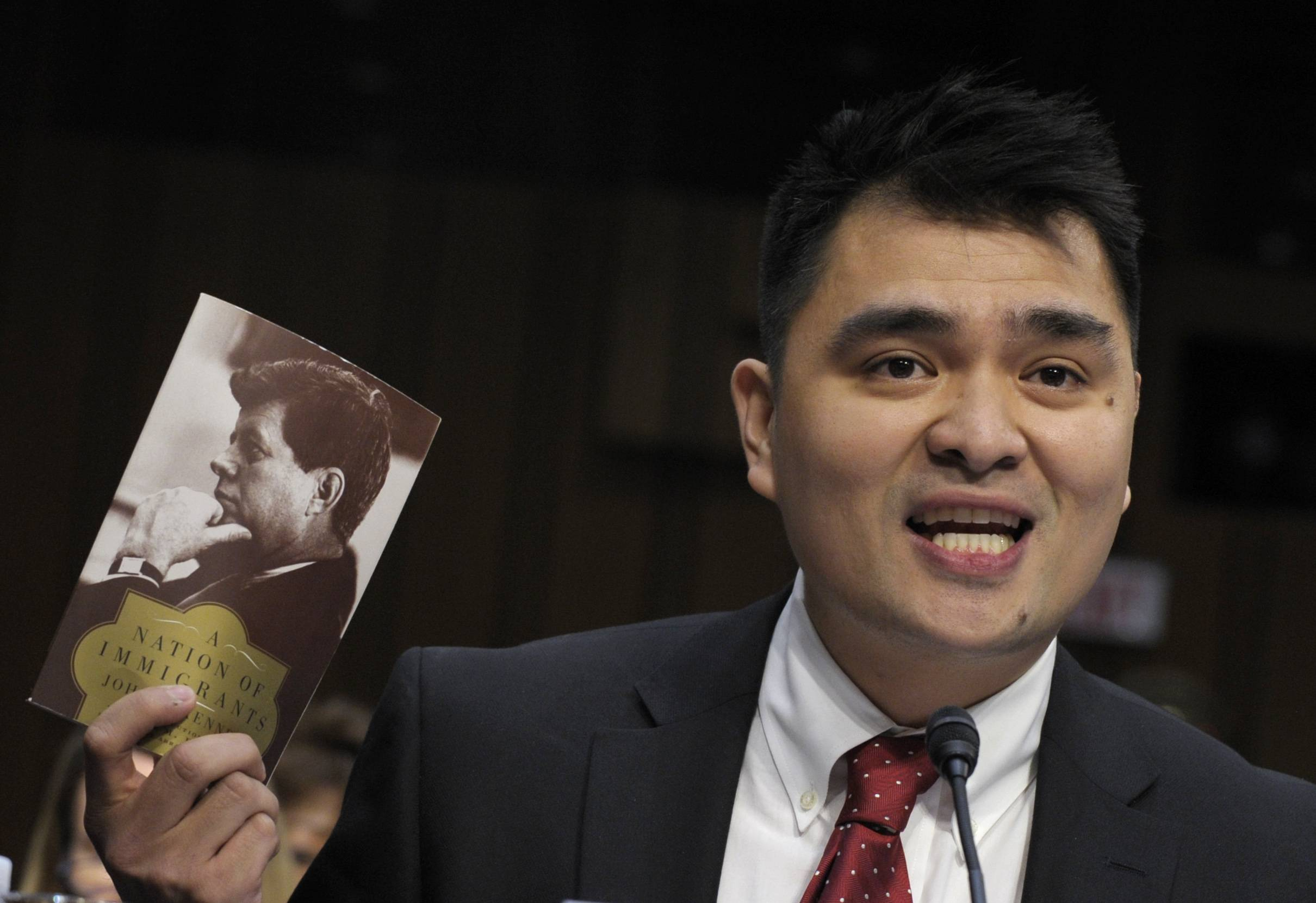 Pulitzer Prize-winning journalist, immigration rights activist and self-declared undocumented immigrant Jose Antonio Vargas was released after being detained Tuesday by U.S. Border Patrol agents at a South Texas airport.