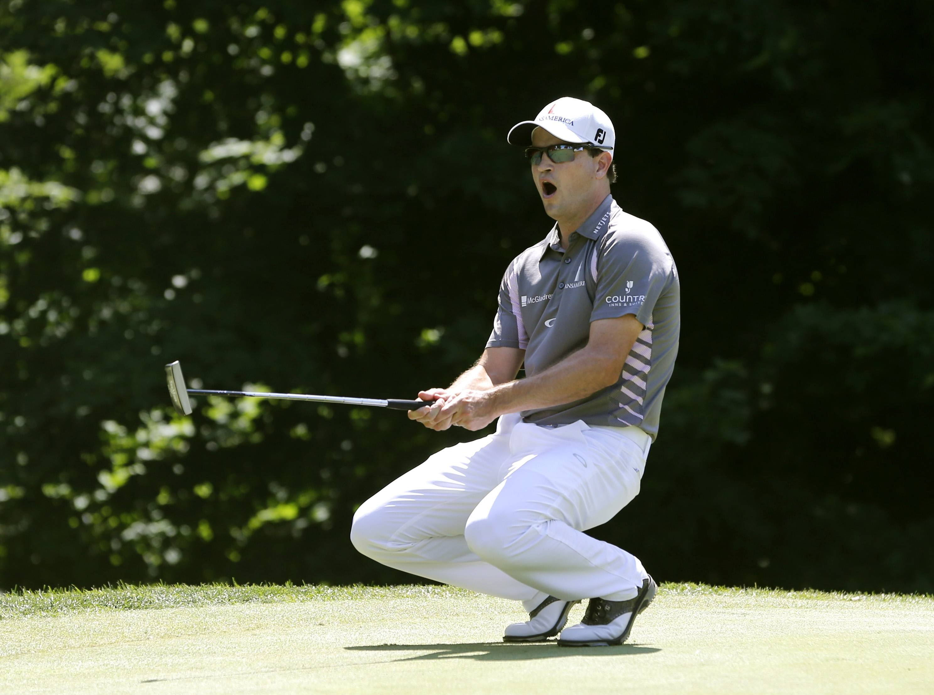Zach Johnson, shown here after missing a birdie putt during the final round of the John Deere Classic, believes the short game is the key to winning the British Open.