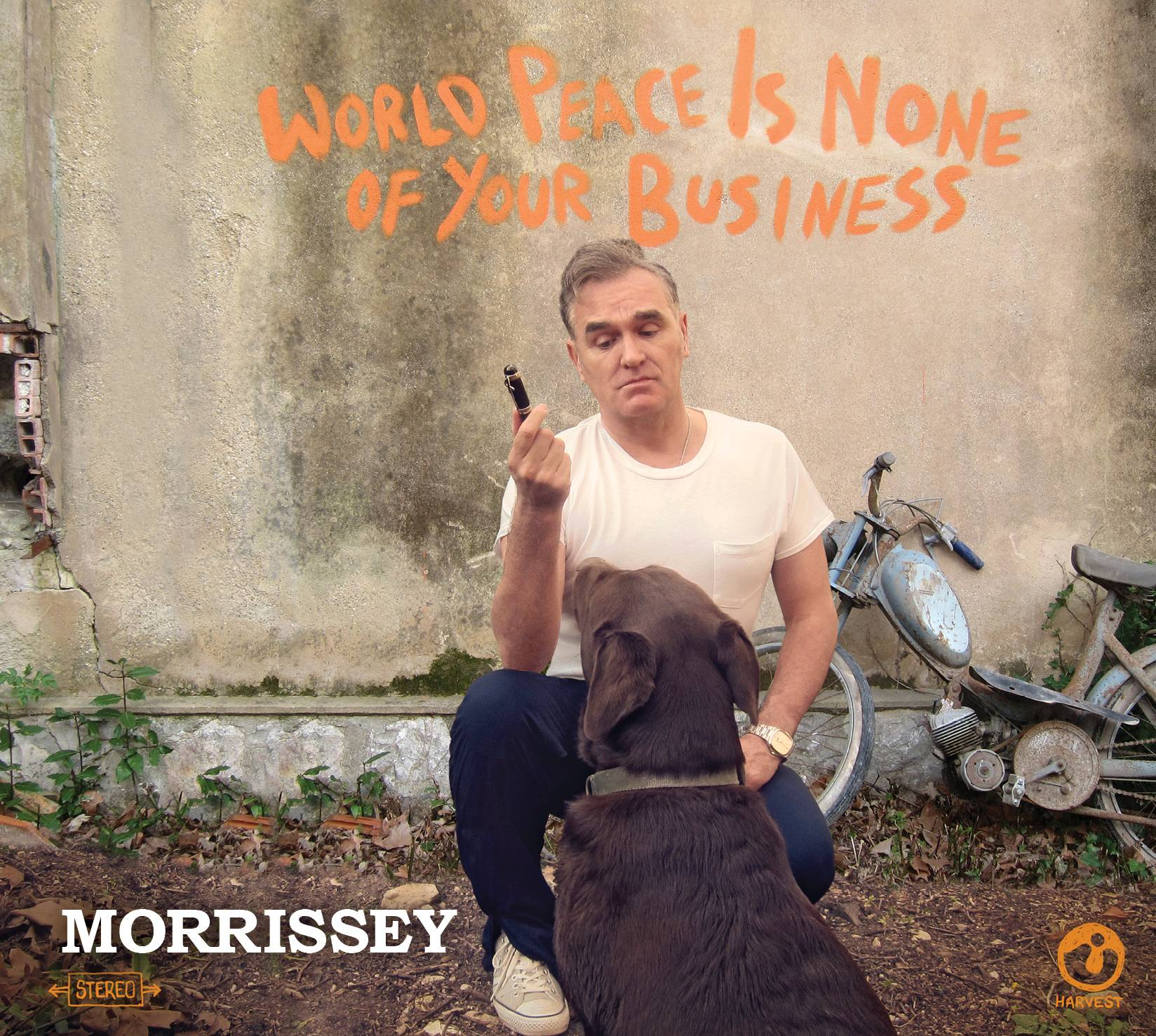 "Morrissey, ""World Peace Is None Of Your Business"""