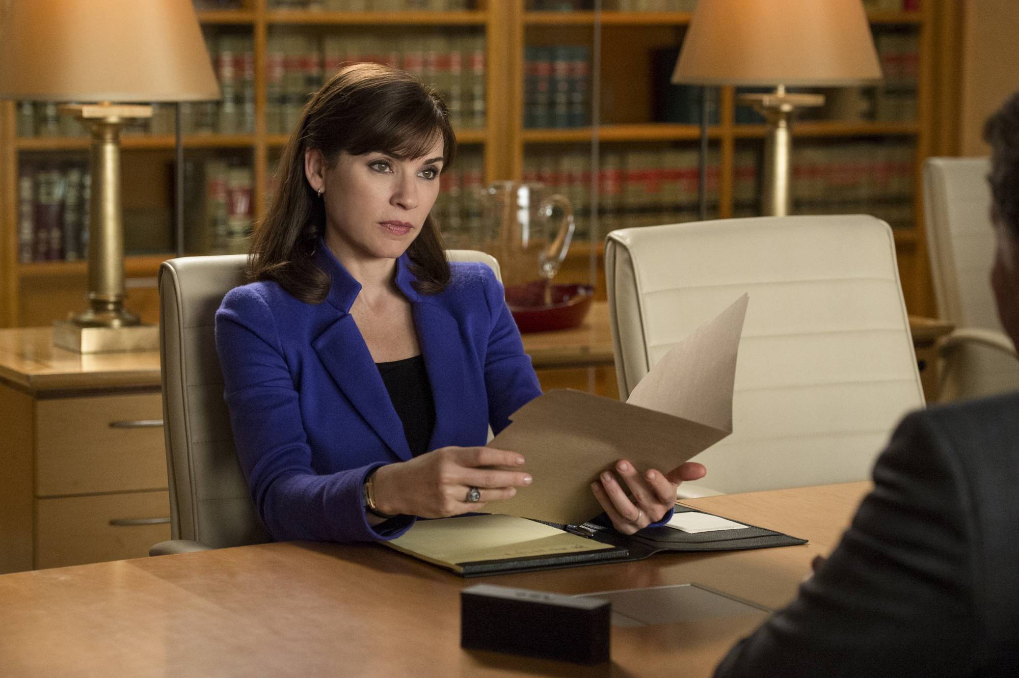 "Julianna Margulies was nominated for an Emmy Award for best actress in a drama series for ""The Good Wife,"" but the show was not nominated for best drama series."
