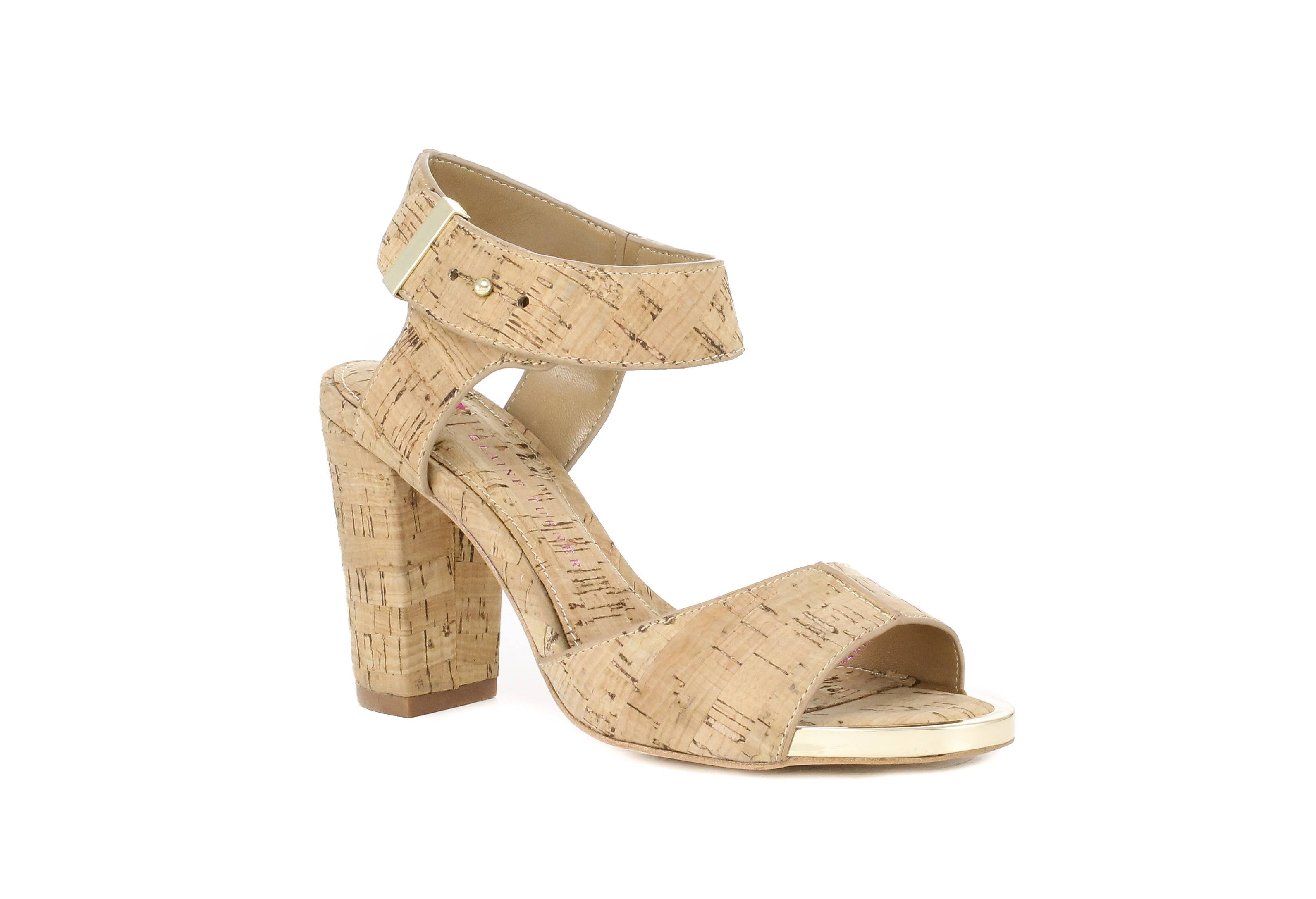Cork is even being used more in shoes, like the Renata Cork Stacked Heel.