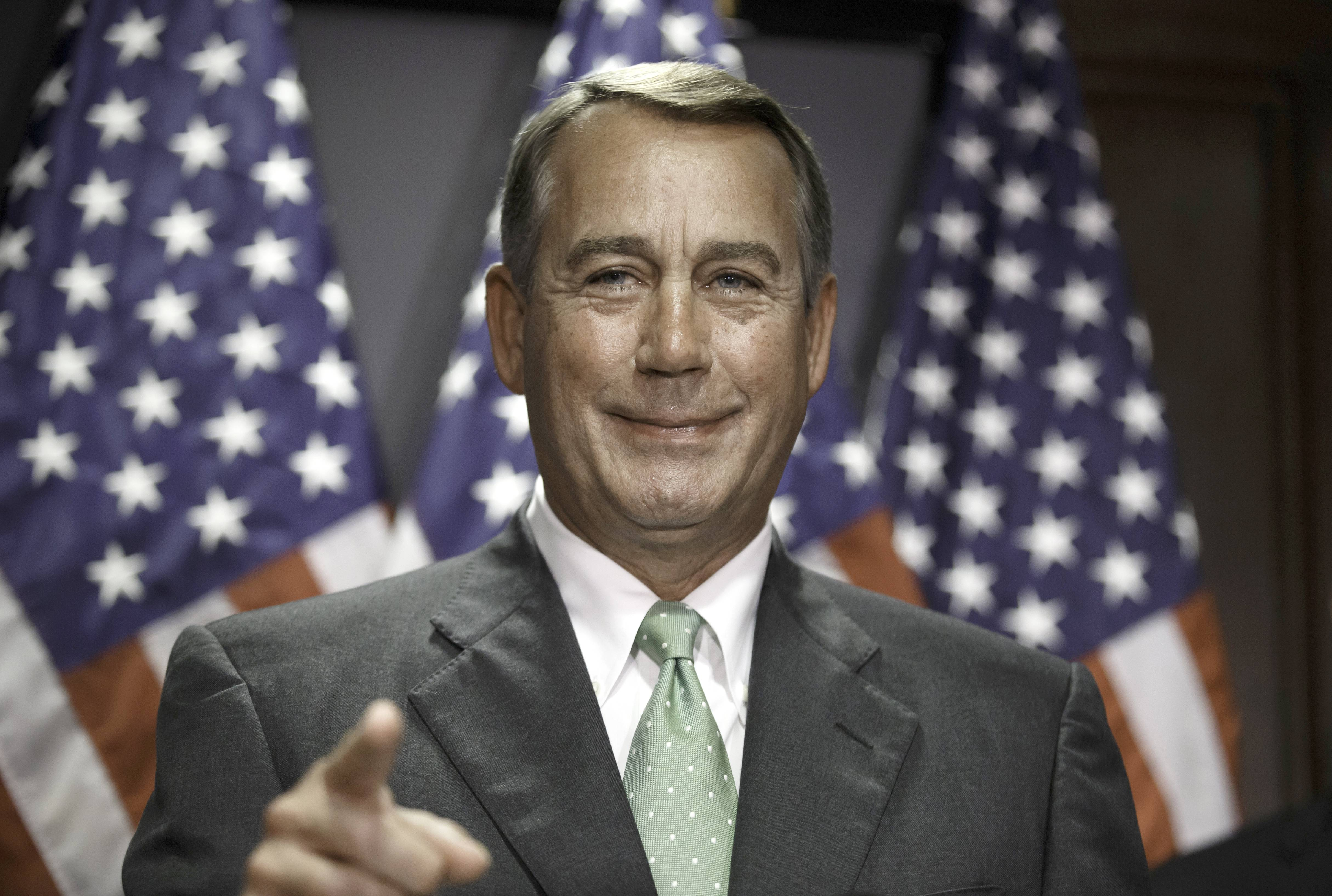 Speaker of the House John Boehner on Tuesday ushered through passage of a multibillion-dollar appropriation for federal highway and transit programs but ducked the issue of how to put them on a sound financial footing for the long term.