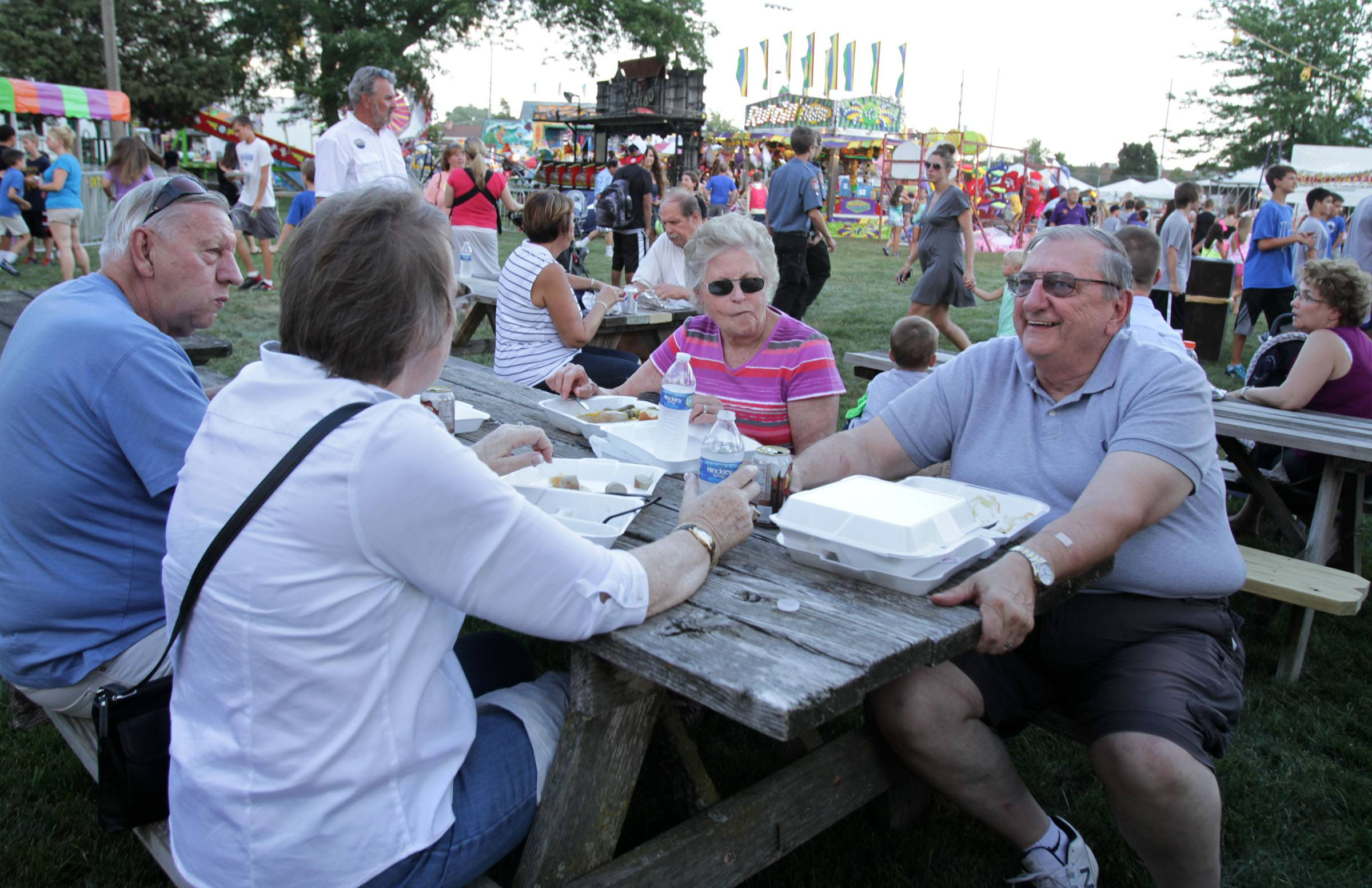 A variety of options await visitors to Alpine Fest, which returns Friday through Sunday, July 18-20, to Lion Fred Blau Park in downtown Lake Zurich.