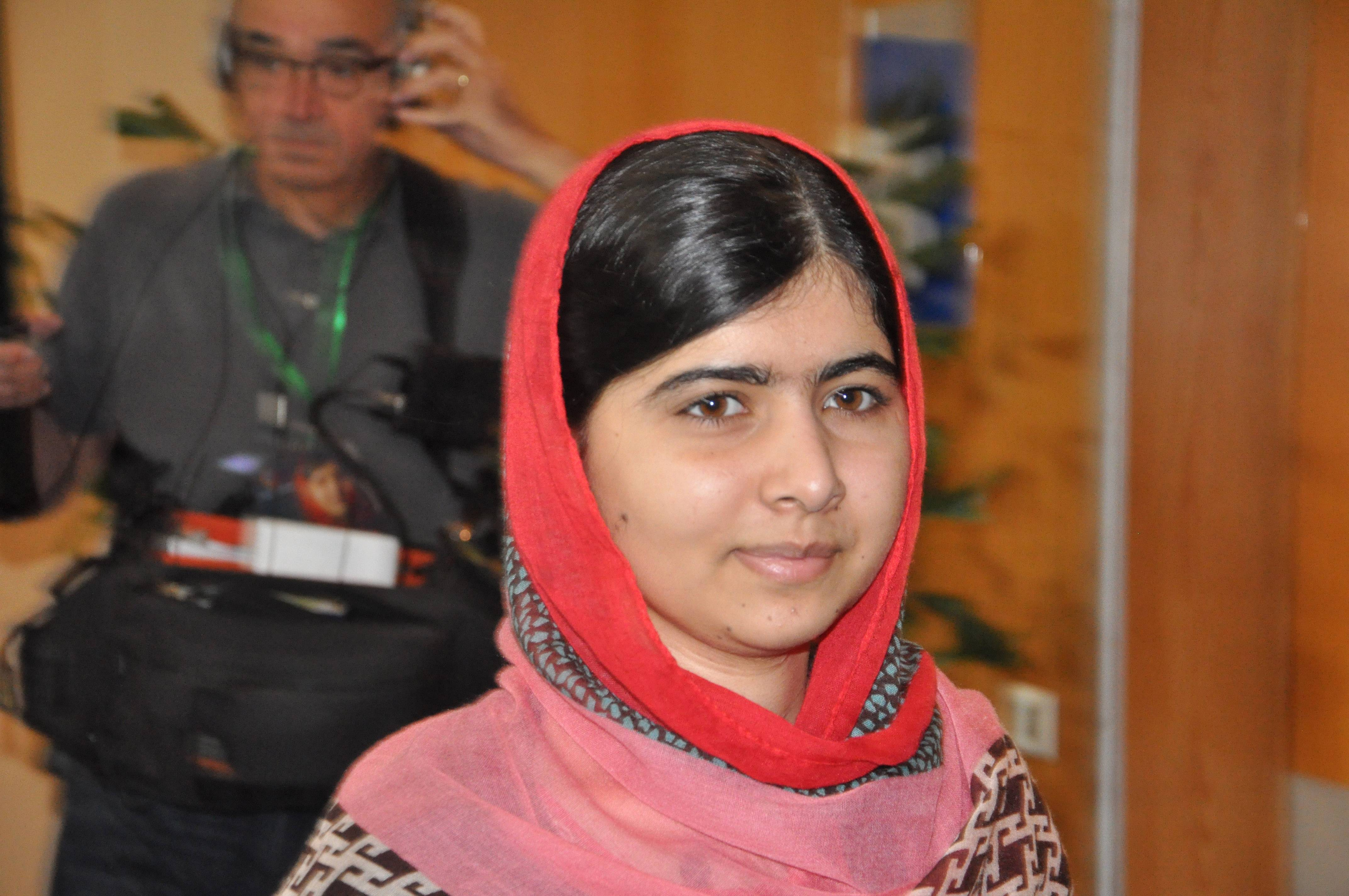 Pakistani activist Malala Yousafzai, who survived being shot by the Taliban because she advocated education for girls, visits Abuja, Nigeria, Monday. Malala Yousafzai traveled to Abuja in Nigeria to meet the relatives of schoolgirls who were kidnapped by Boko Haram three months ago.