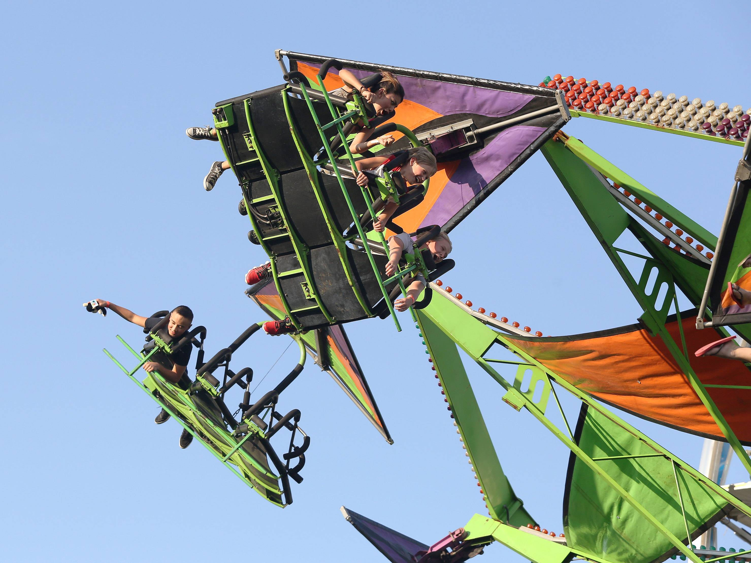 Amusement rides, music, food and entertainment are on tap Thursday through Sunday at the Vernon Hills Summer Celebration in Century Park.