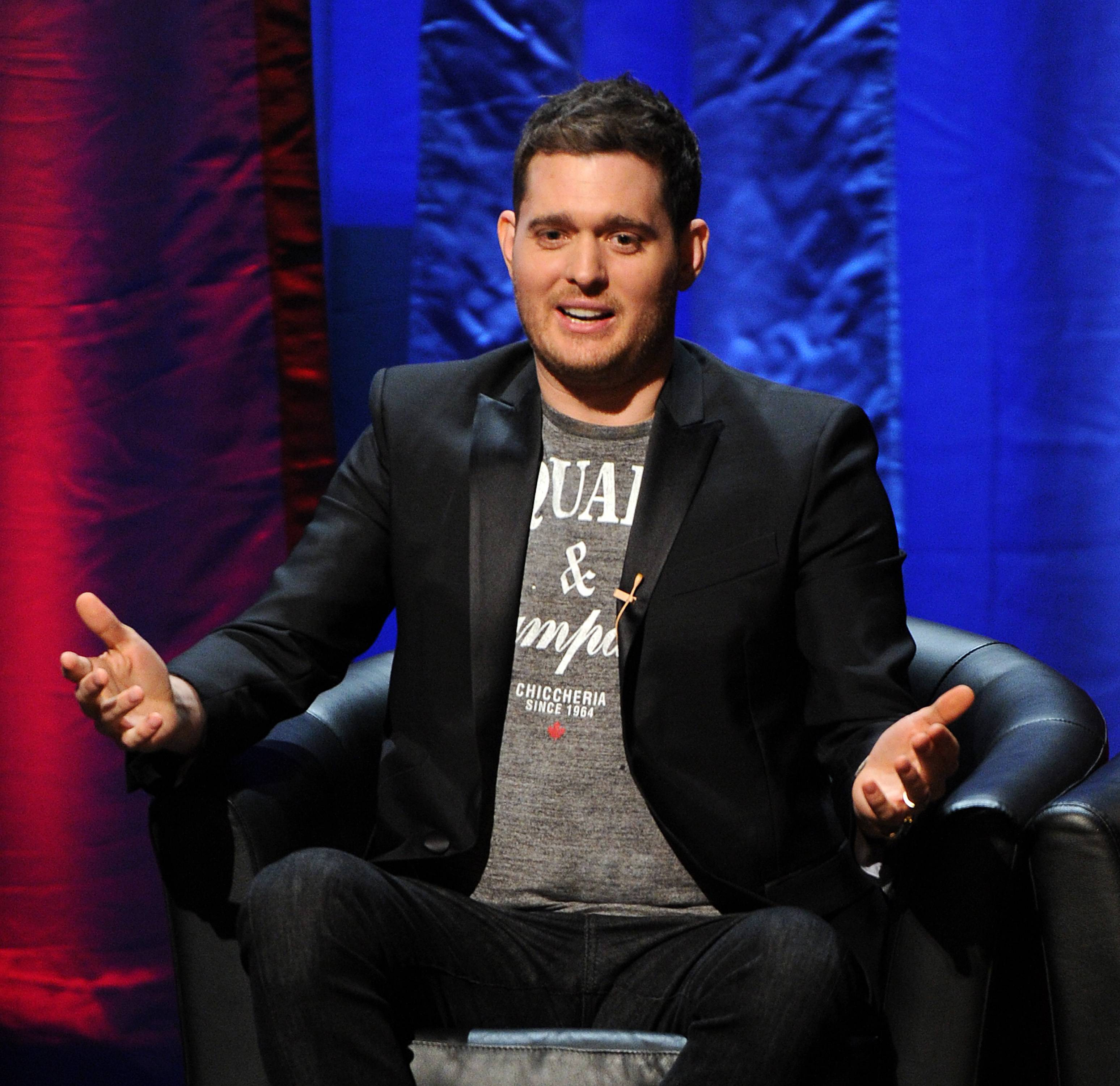 "Thanks to some help from a dentist, singer Michael Buble was able to go onstage in New Hampshire as scheduled. Less than 24 hours before he was to perform last week during his ""Crazy Love"" tour, Buble dislodged a crown while trying to open a ketchup packet with his teeth."