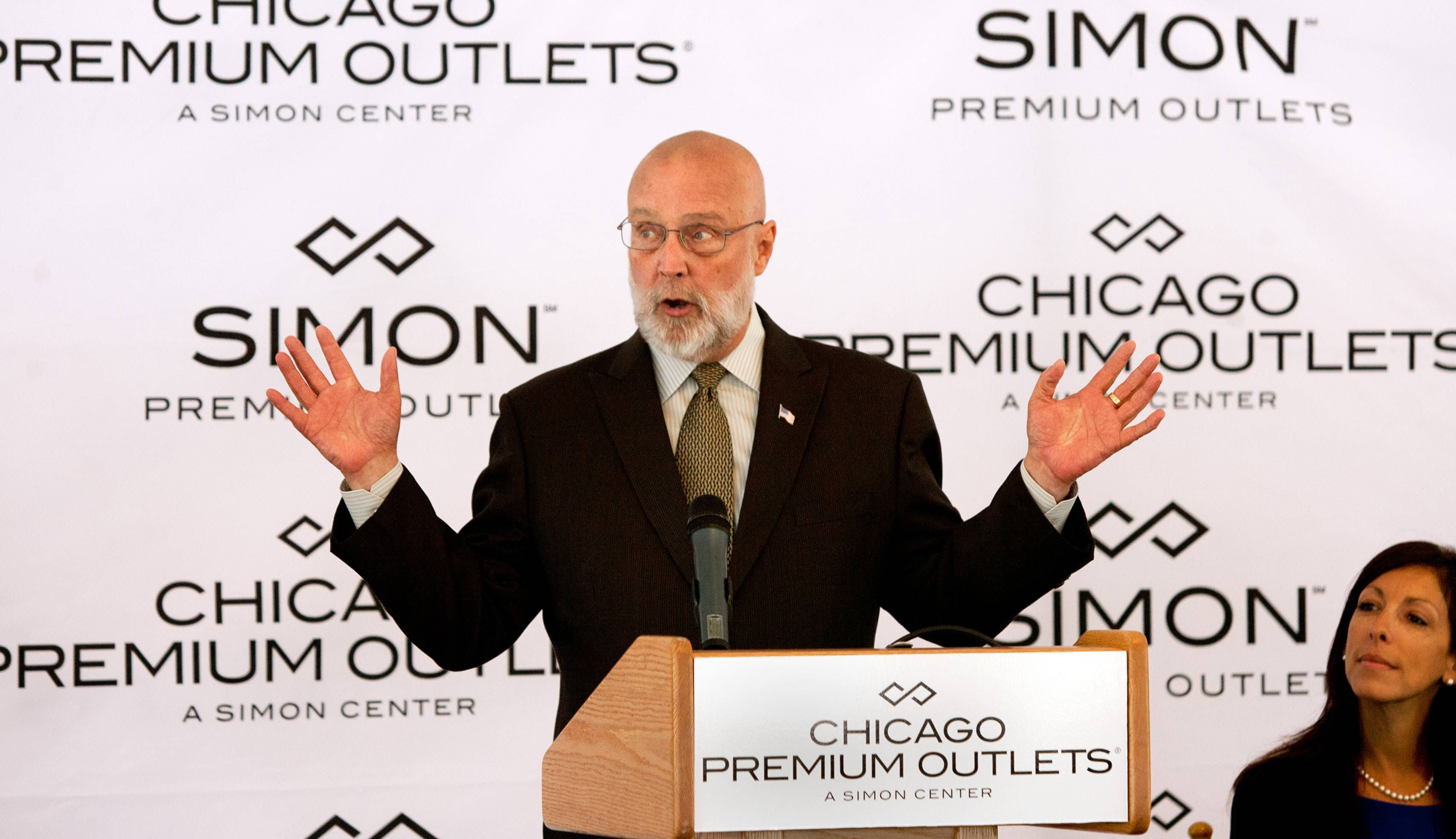 "Aurora Mayor Tom Weisner says the $110 million expansion of Chicago Premium Outlets will be ""a big deal"" for the city as it's expected to create 300 construction jobs and 500 permanent positions."