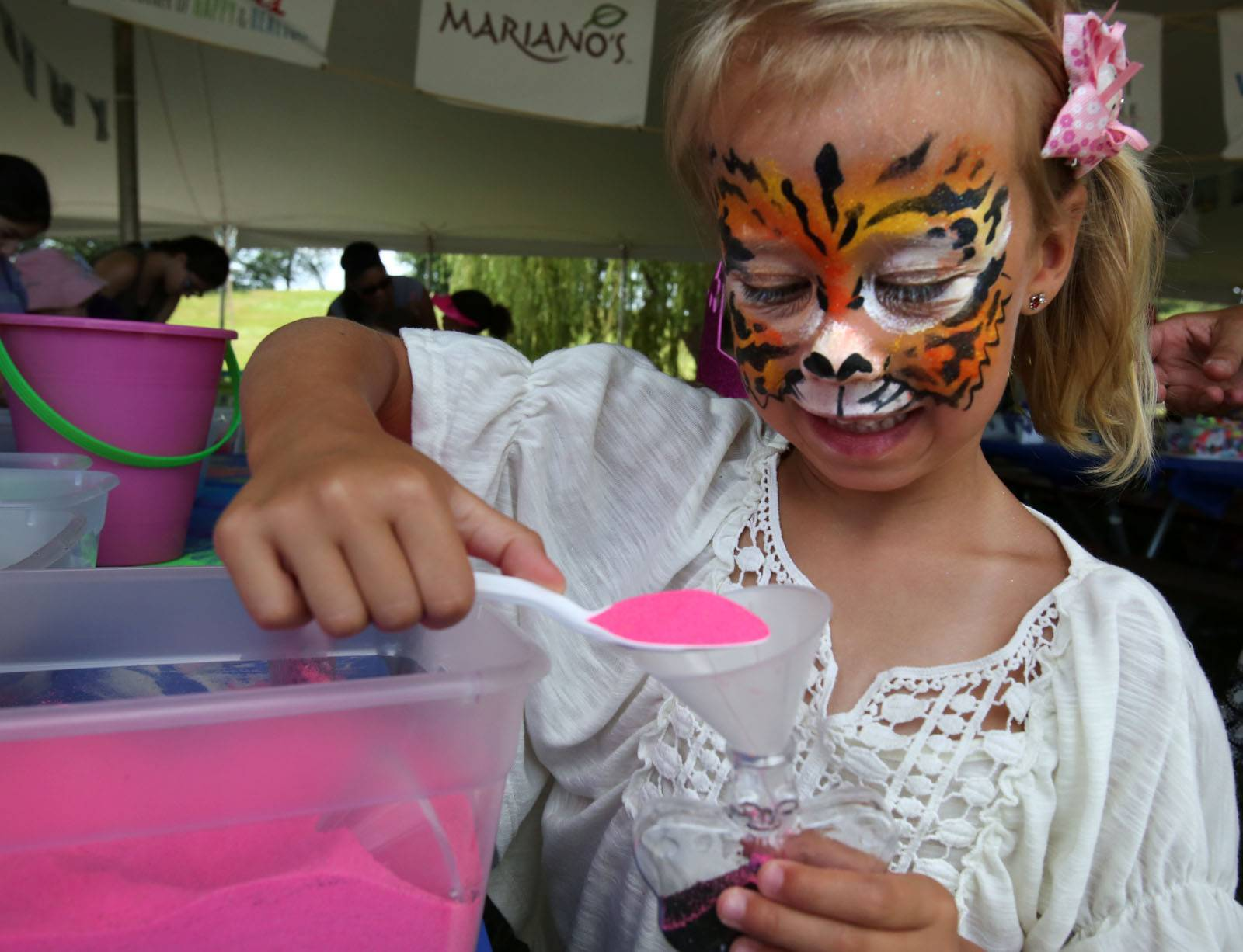 Kids' activities are part of Vernon Hills Summer Celebration at Century Park.