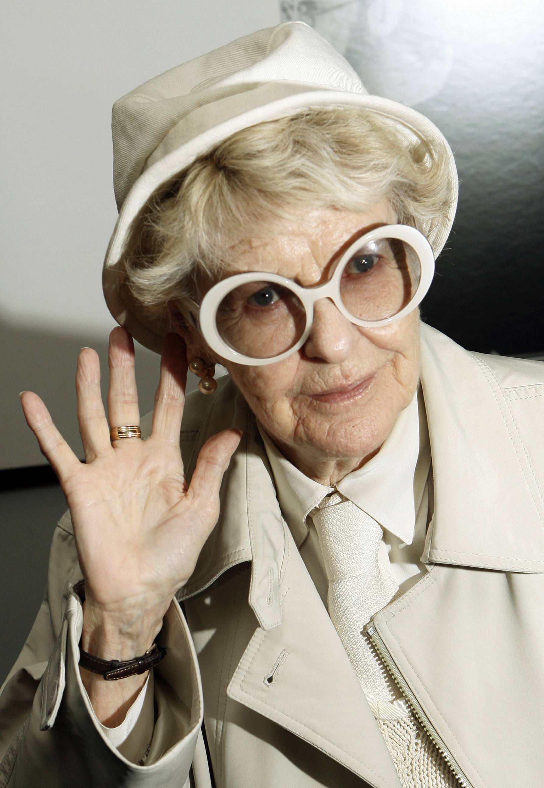Actress Elaine Stritch died Thursday at her home in Birmingham, Mich. She was 89.