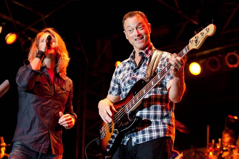 Gary Sinise and the LT. Dan Band will headline Saturday's Rockin' for the Troops event at Cantigny Park in Wheaton. The group has played hundreds of shows both in the U.S. and abroad to support American soldiers and veterans.