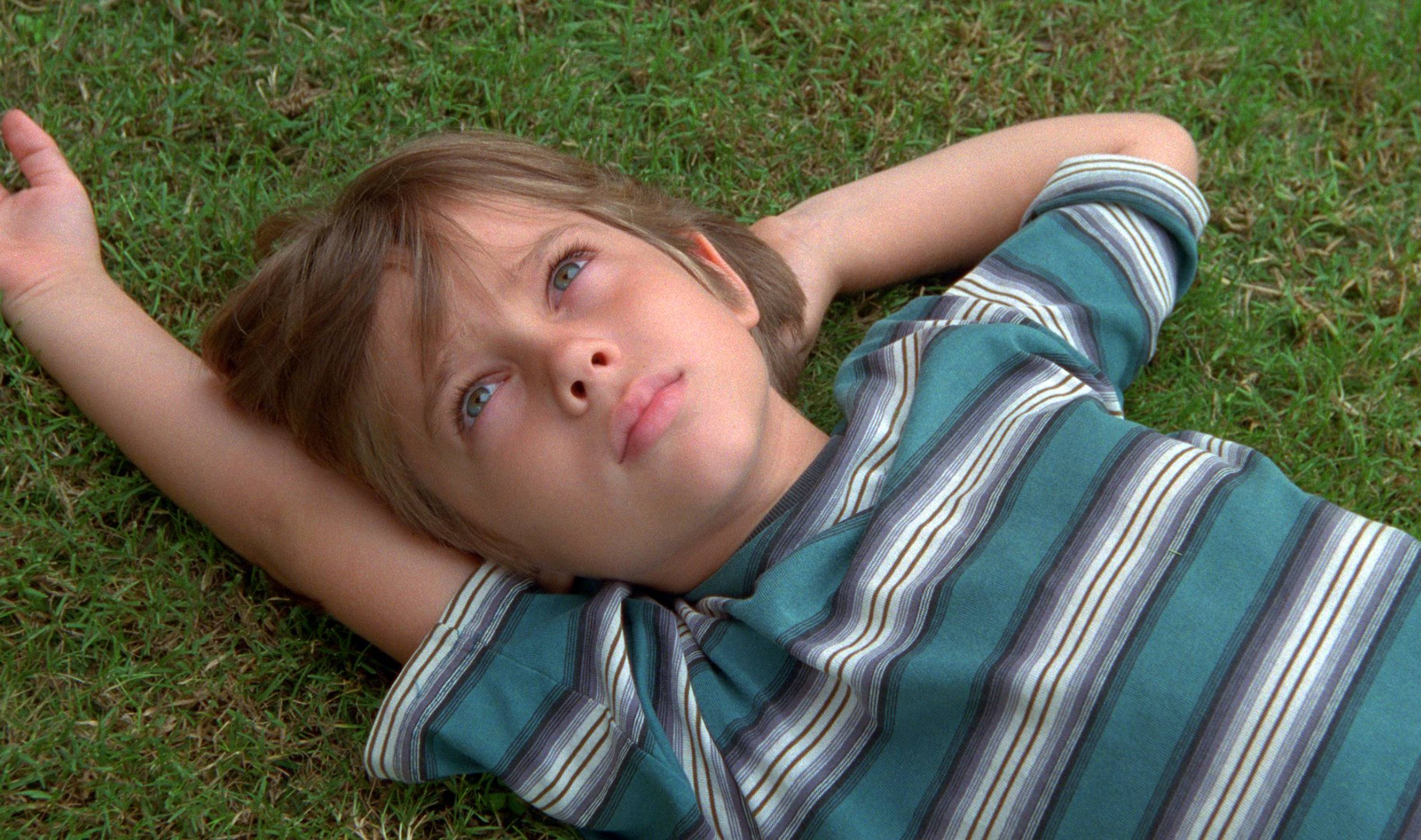 "The opening scene in Richard Linklater's drama ""Boyhood"" is young Mason (Ellar Coltrane) at age 6."