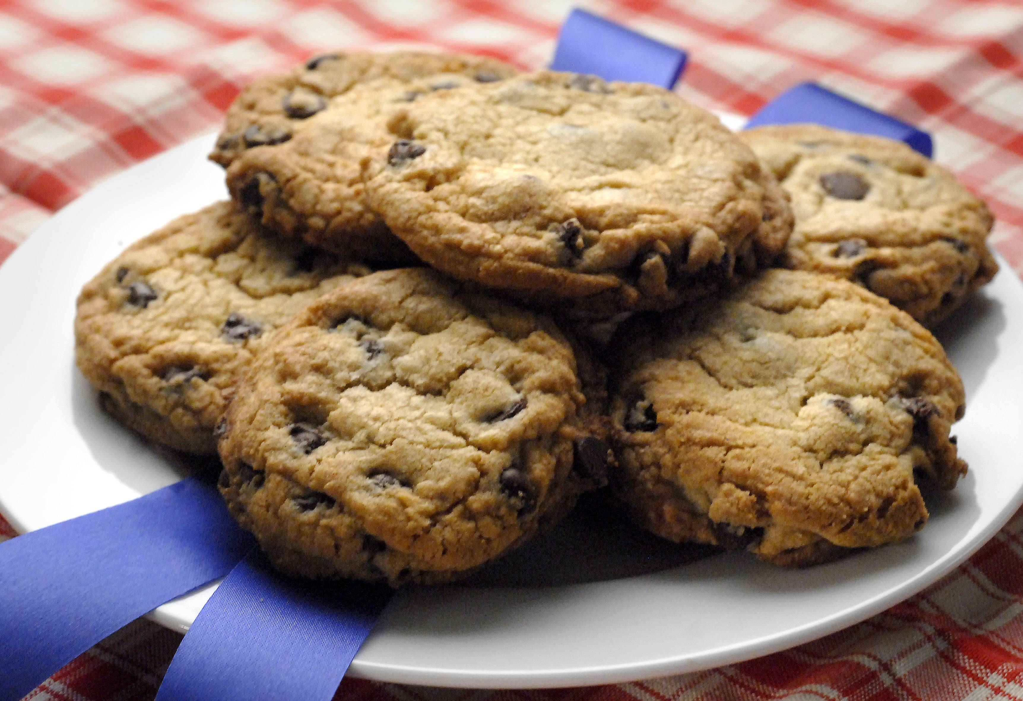 Want a win a blue ribbon at the local fair? Keep ingredients from competing with each other. Annie Overboe's Blue Ribbon Cookies are one example of a winning recipe.